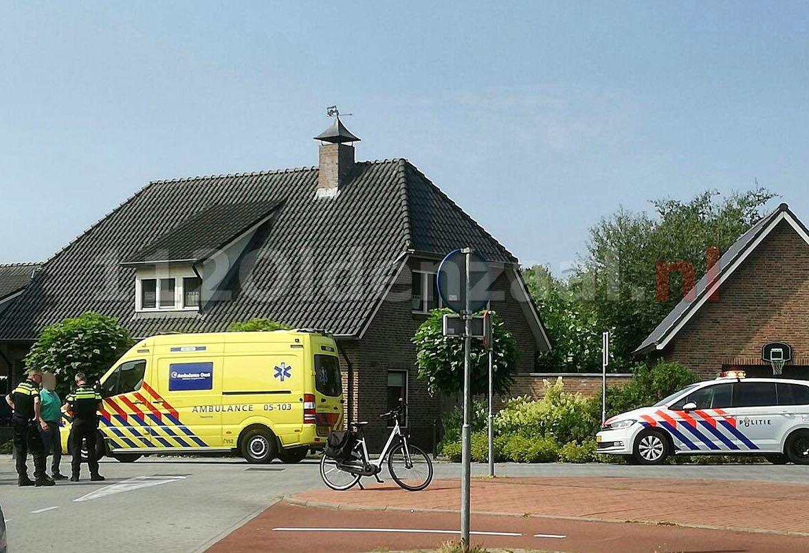 Vrouw gewond na val Leliestraat Oldenzaal