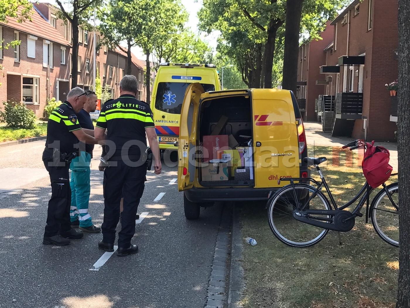 Fietsster gewond na ongeval Bleekstraat Oldenzaal