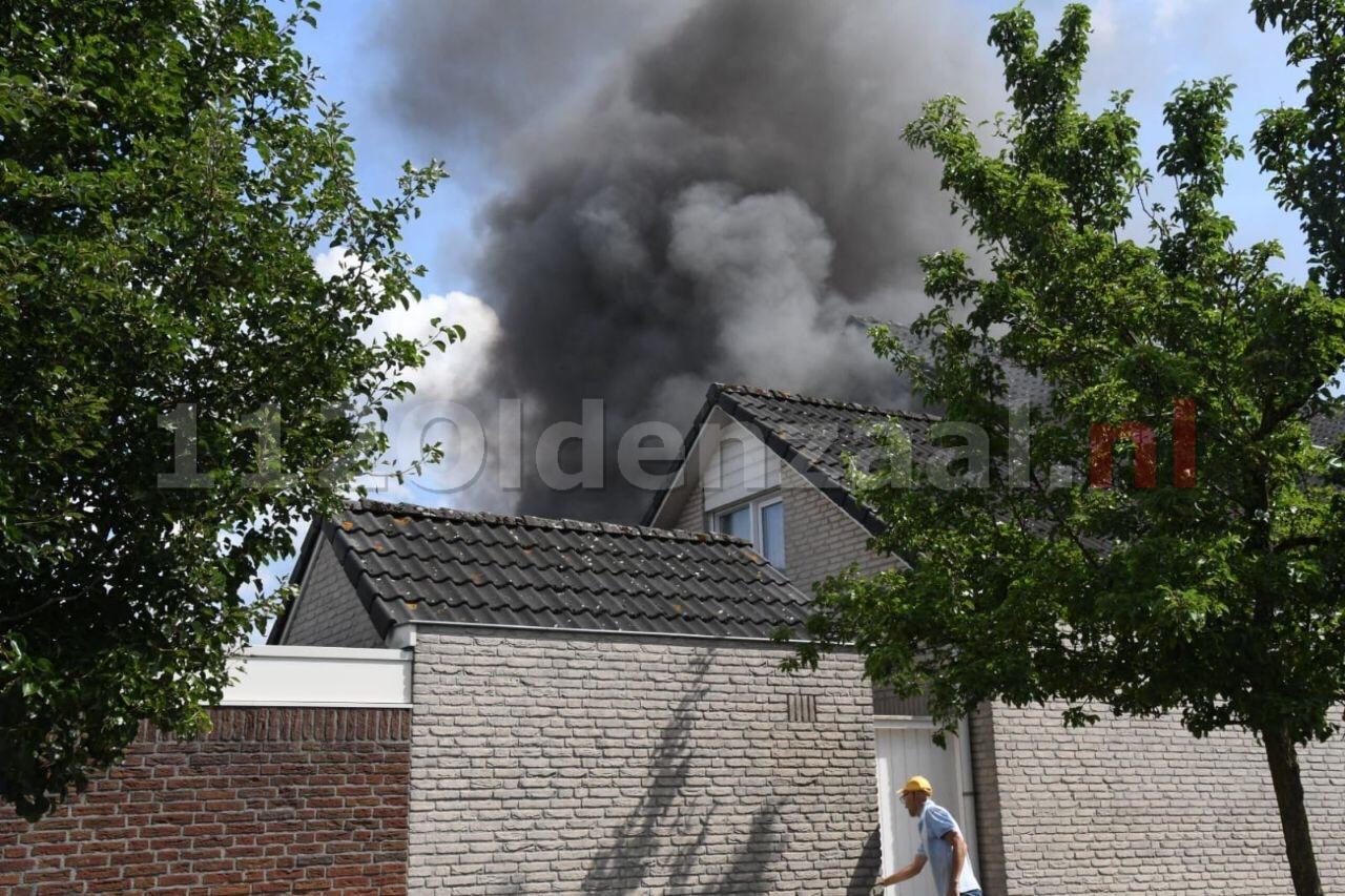 Woningbrand Joop Zoetemelkstraat Oldenzaal