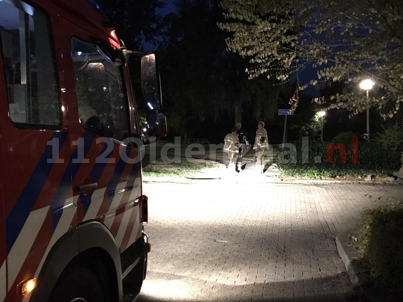 Brandweer rukt uit voor vreemde lucht aan Bolkskamp Oldenzaal