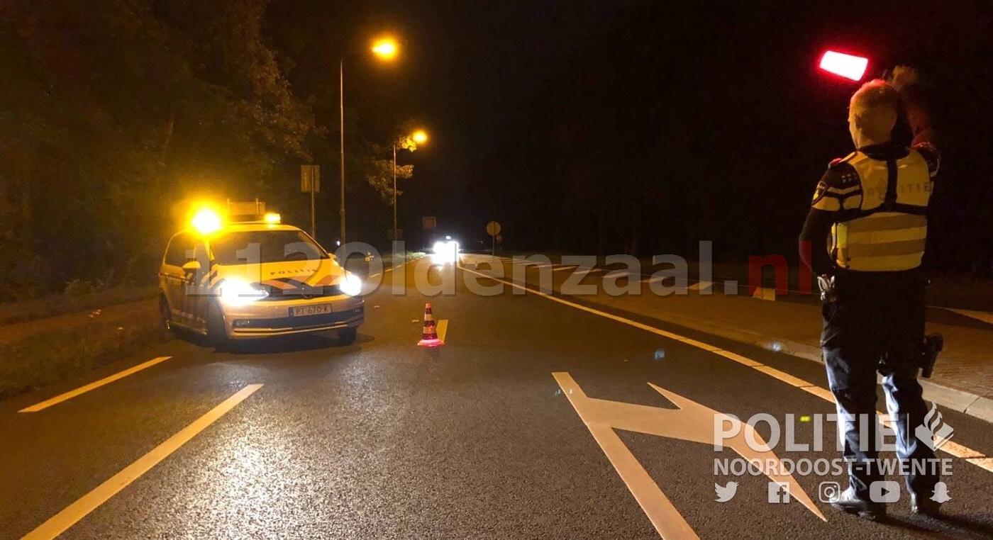 21-jarige bestuurder aangehouden voor rijden onder invloed in Oldenzaal