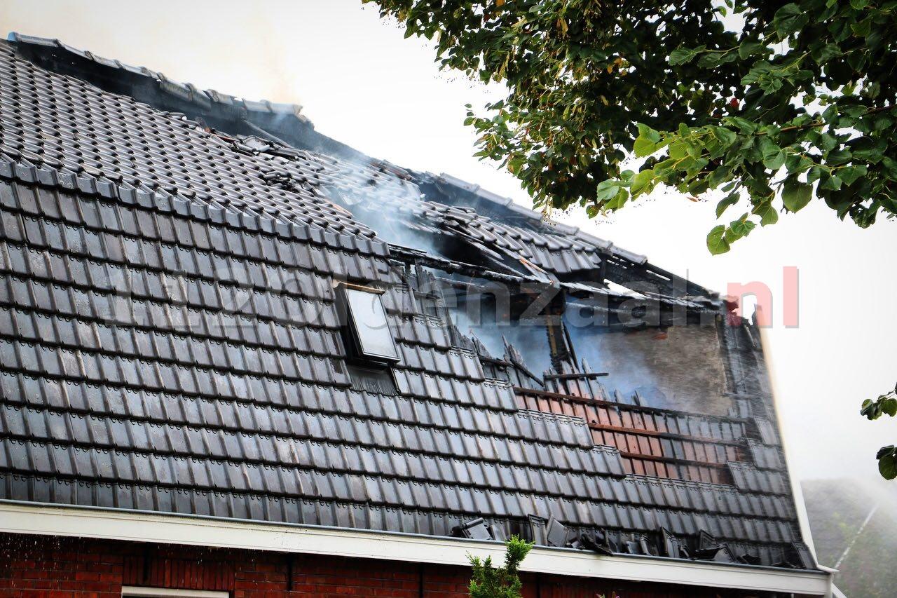 Lichaam aangetroffen bij woningbrand in Ootmarsum