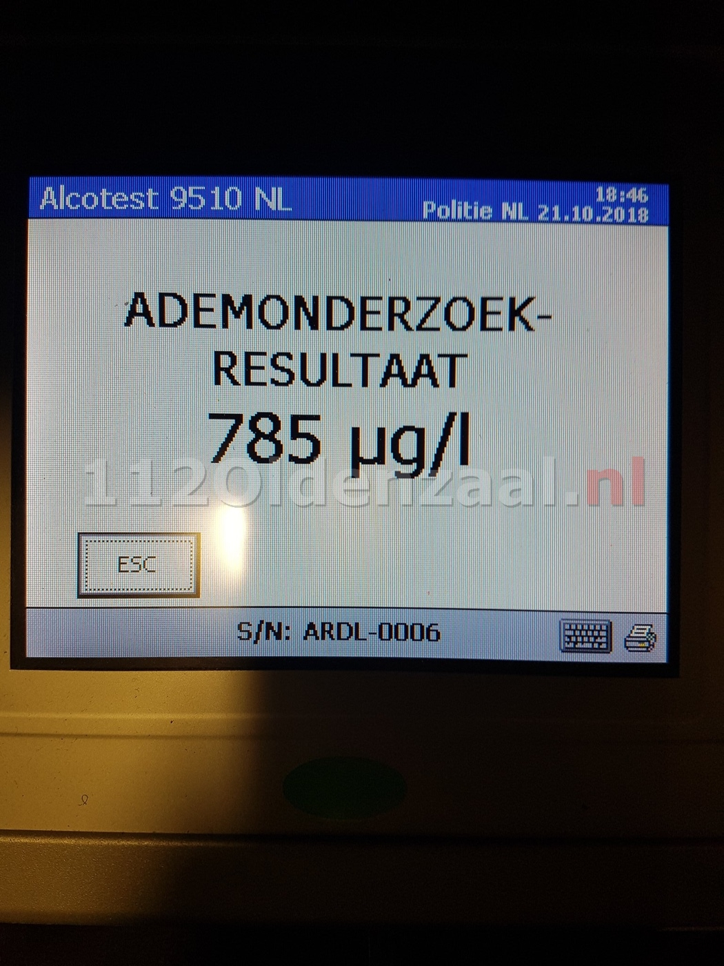 Drankrijders gepakt bij alcoholcontrole in Oldenzaal