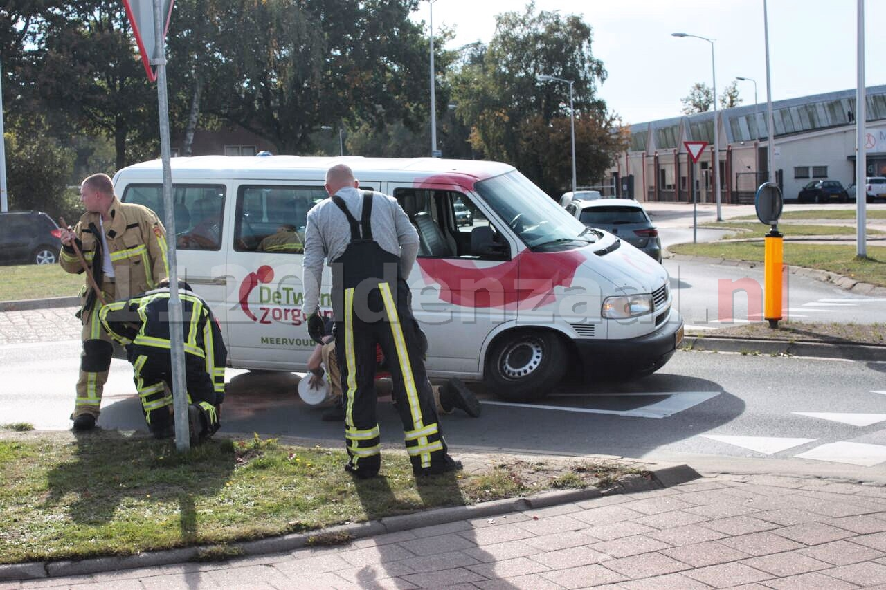 Brandweer opgeroepen voor afgebroken wiel