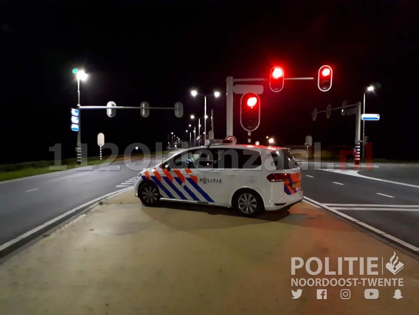 Drankrijder rijdt 115km/uur door Oldenzaal