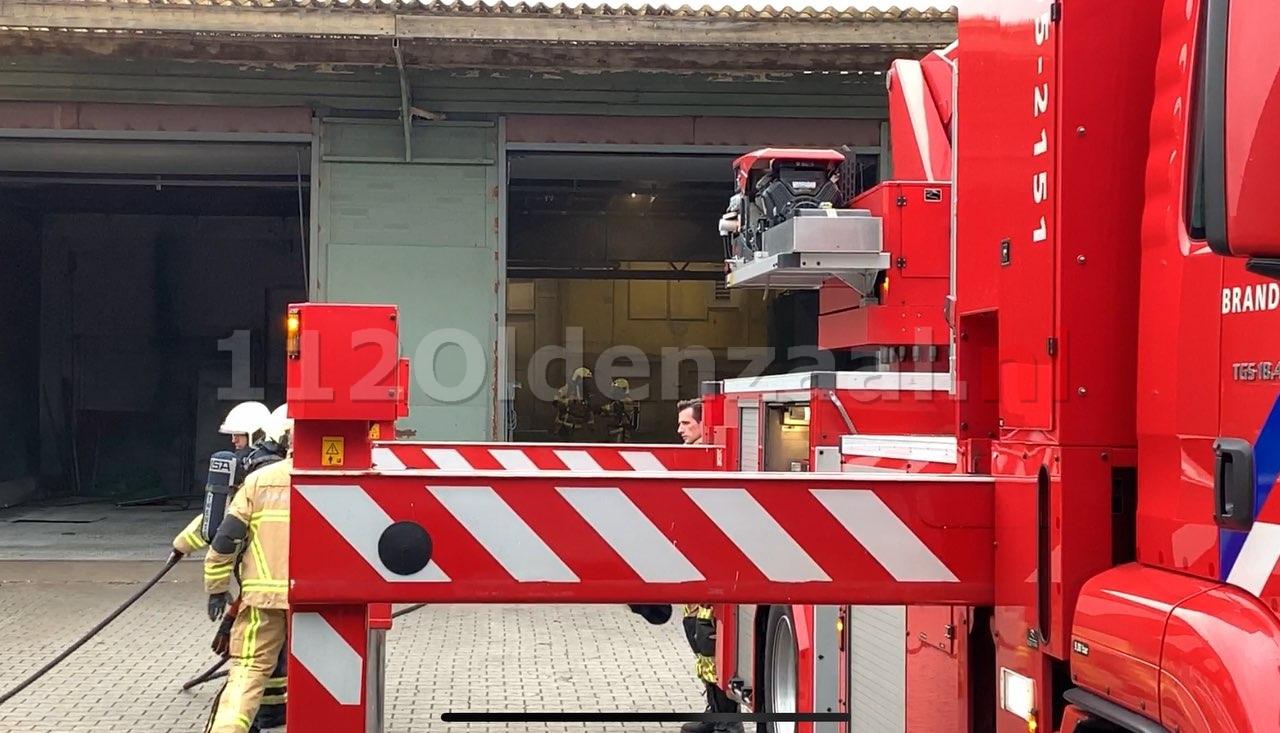 UPDATE: Brand bij bedrijf in Oldenzaal
