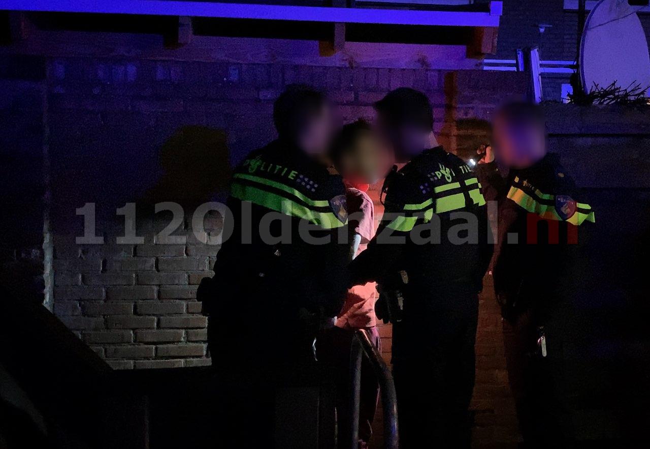 VIDEO: Uitslaande schuurbrand in Oldenzaal: een persoon aangehouden