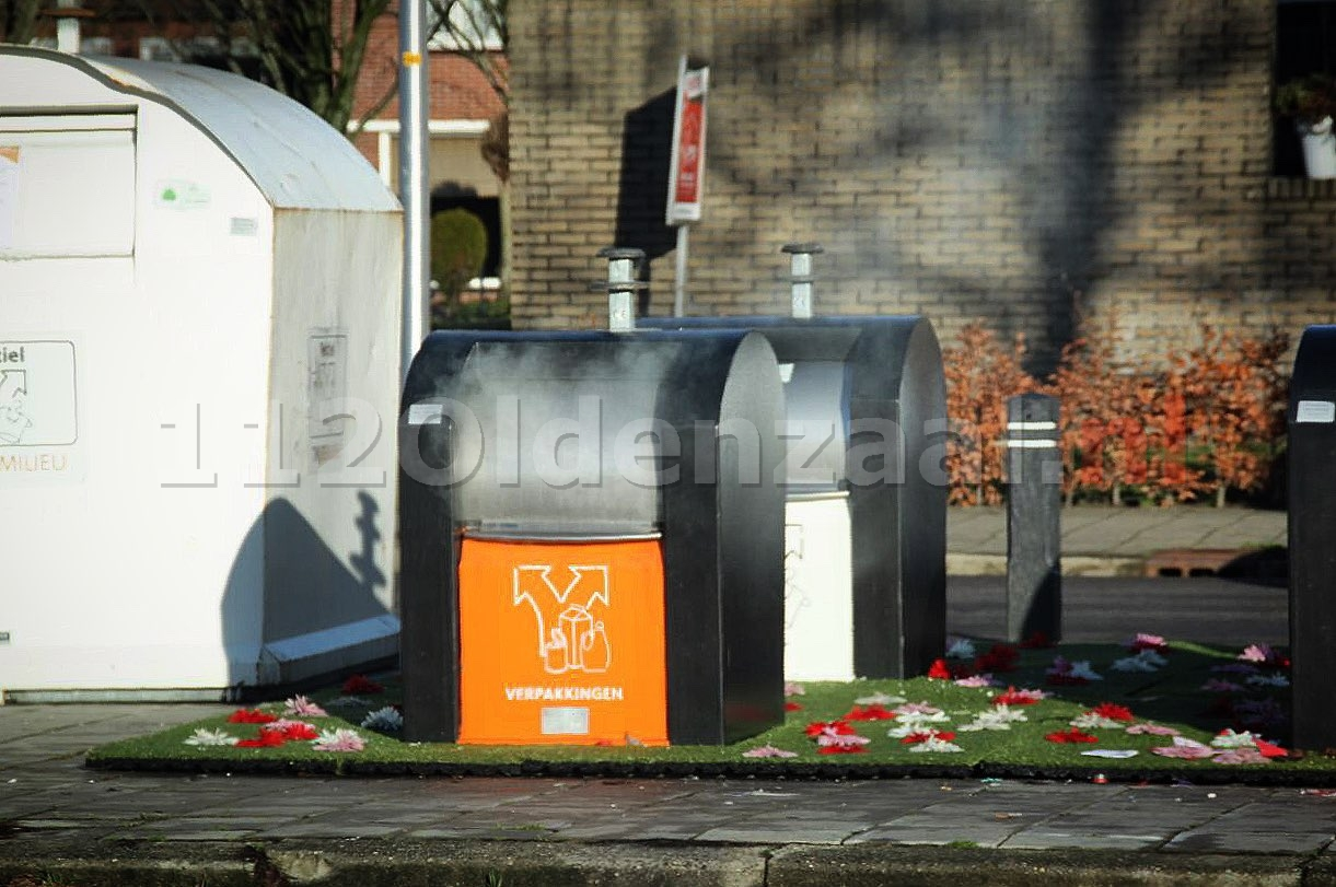 Brandweer rukt uit voor containerbranden in Oldenzaal