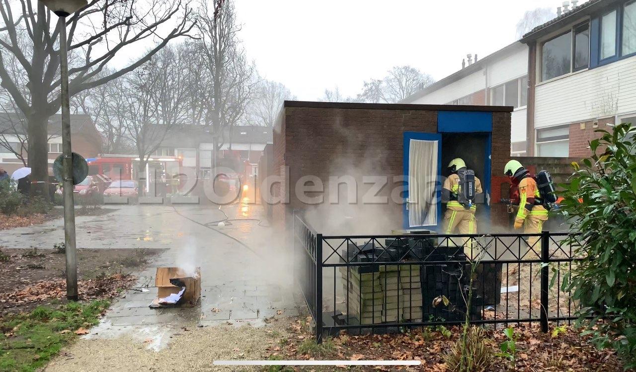 Schuurbrand Hunenveldlaan Oldenzaal