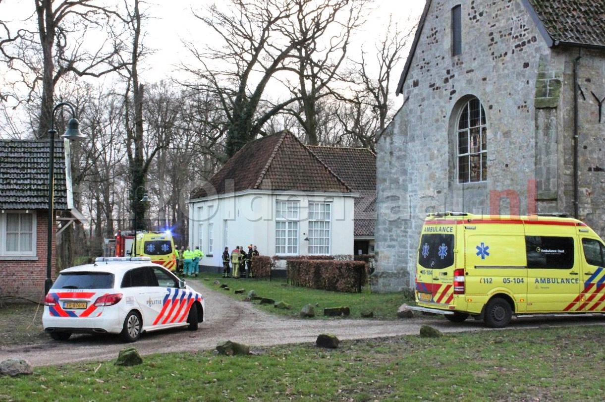 UPDATE: 54-jarige man overleden bij werkzaamheden in Weerselo