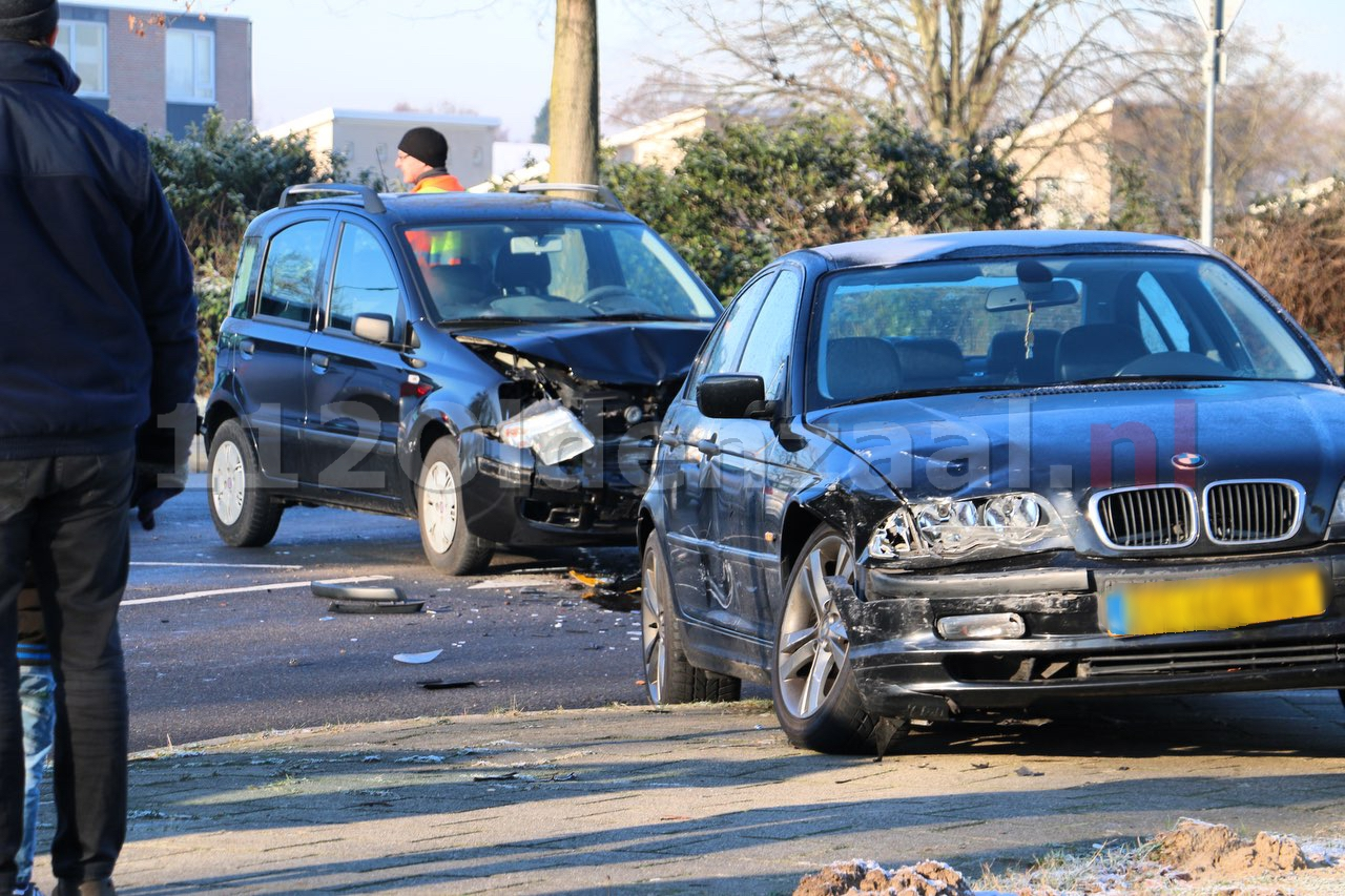 Forse schade na ongeval in Oldenzaal