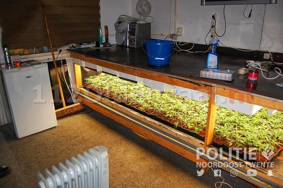 Aanhoudingen na aantreffen 37 kilo hennep in Oldenzaal