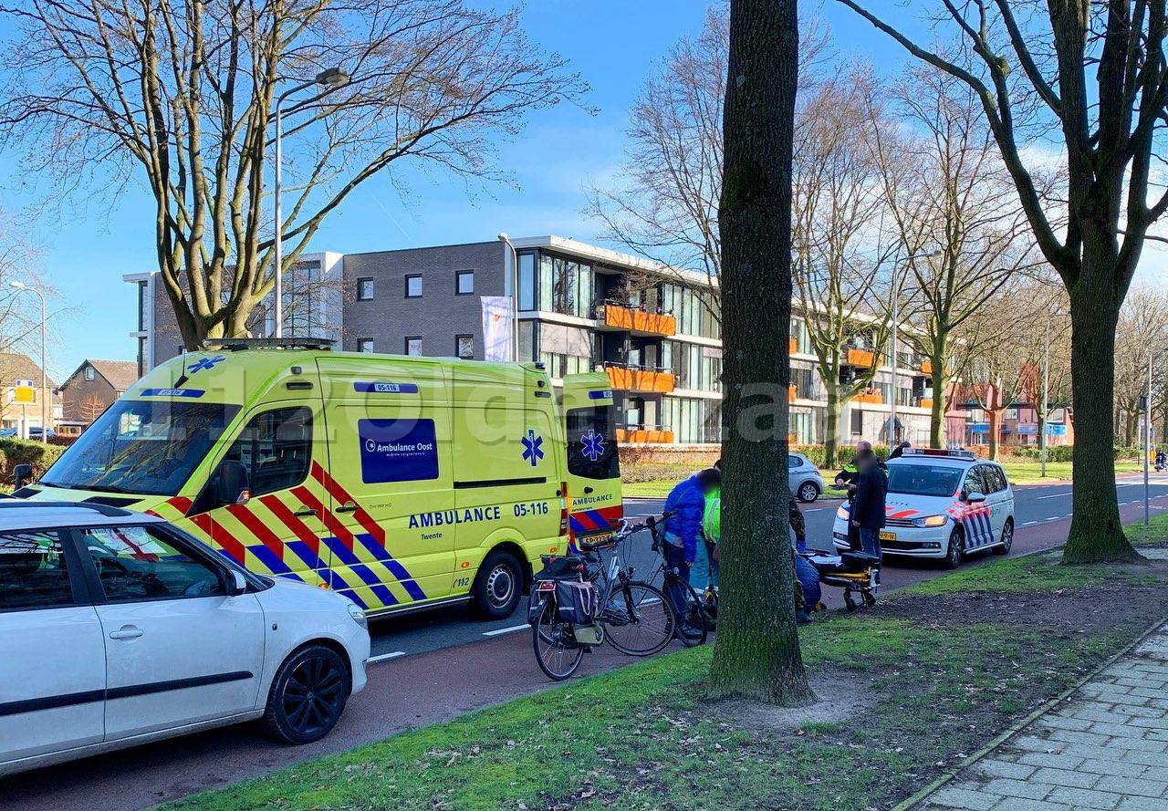 Fietser gewond na ongeval in Oldenzaal
