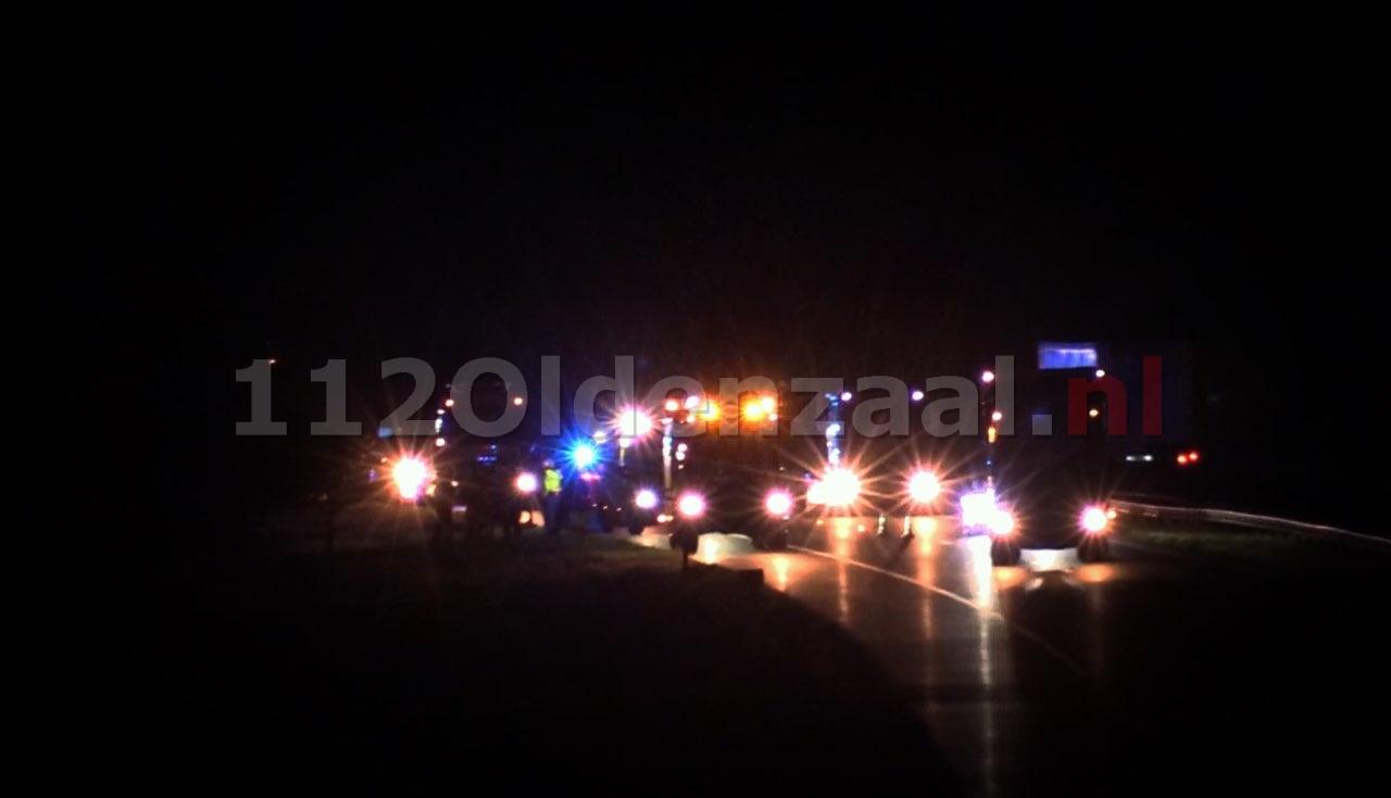 UPDATE (video): Ongeval op A1 tussen De lutte en Oldenzaal