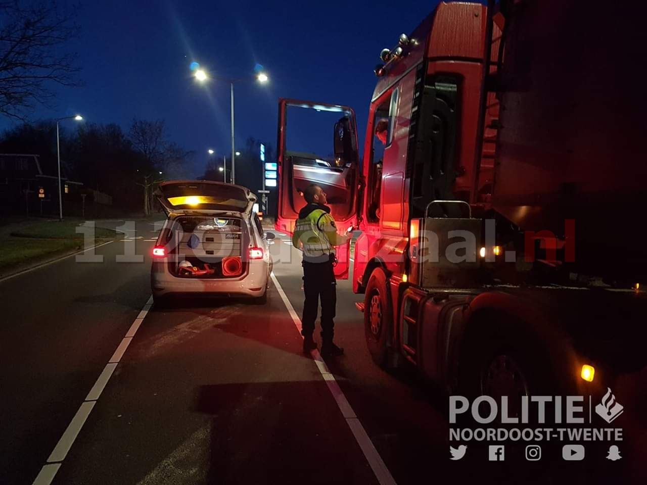 Politie houdt alcoholcontrole in Oldenzaal