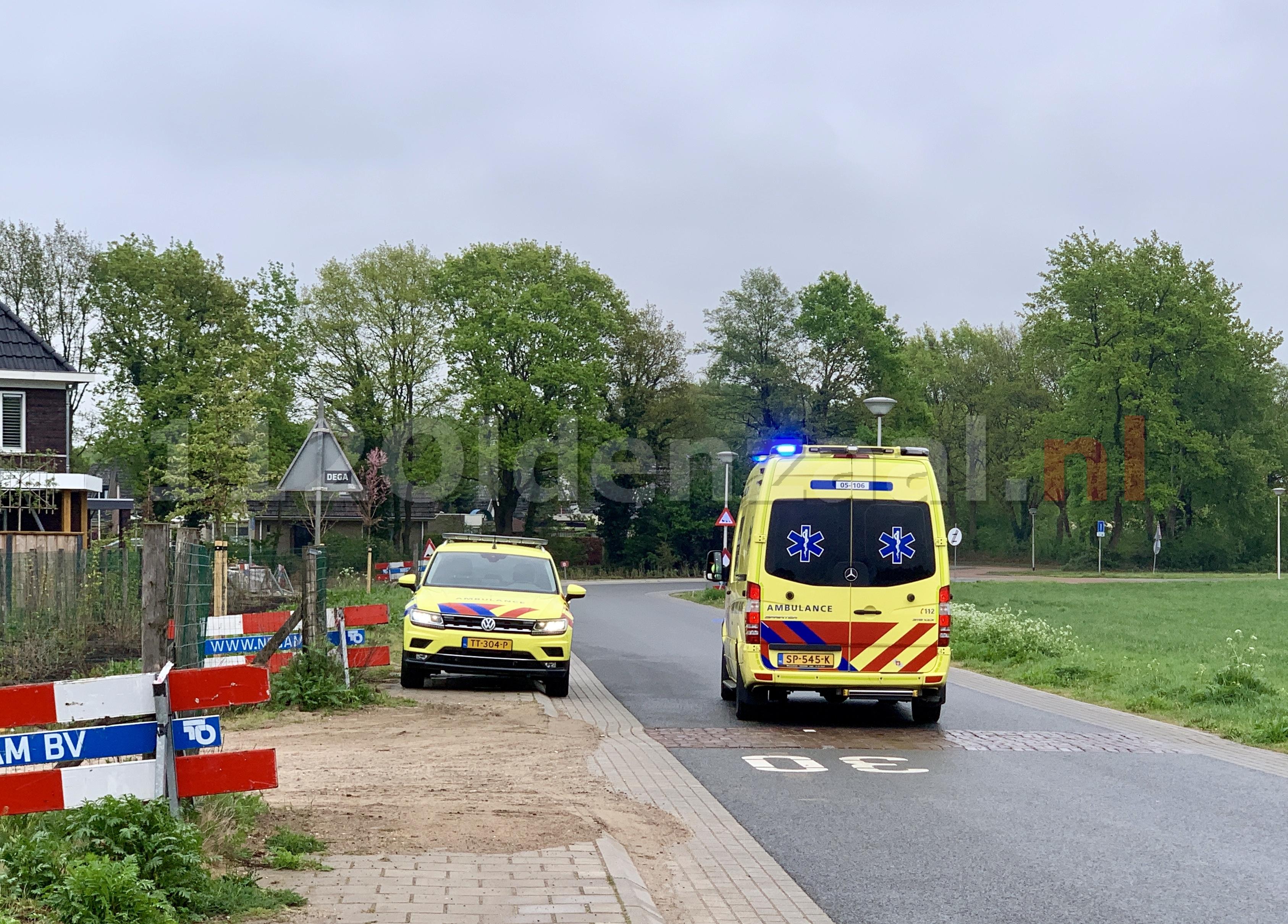 Twee personen gewond op bouw in Oldenzaal