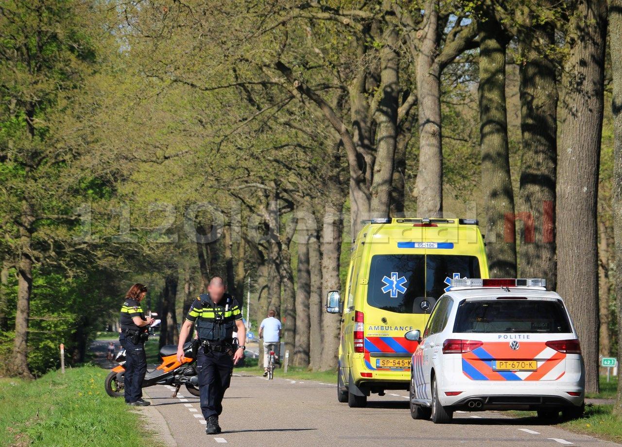 Scooterrijder gewond na val tussen Oldenzaal en Denekamp