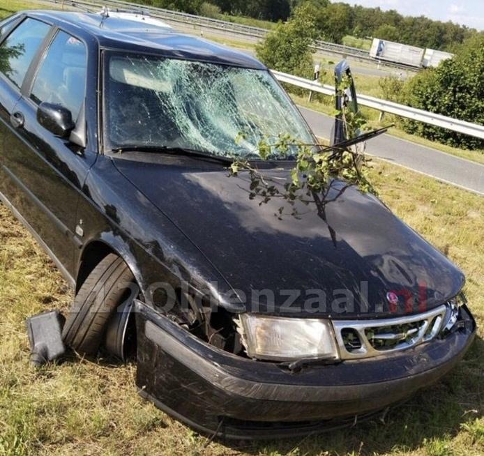 Twee personen aangehouden na achtervolging op A1 bij Oldenzaal
