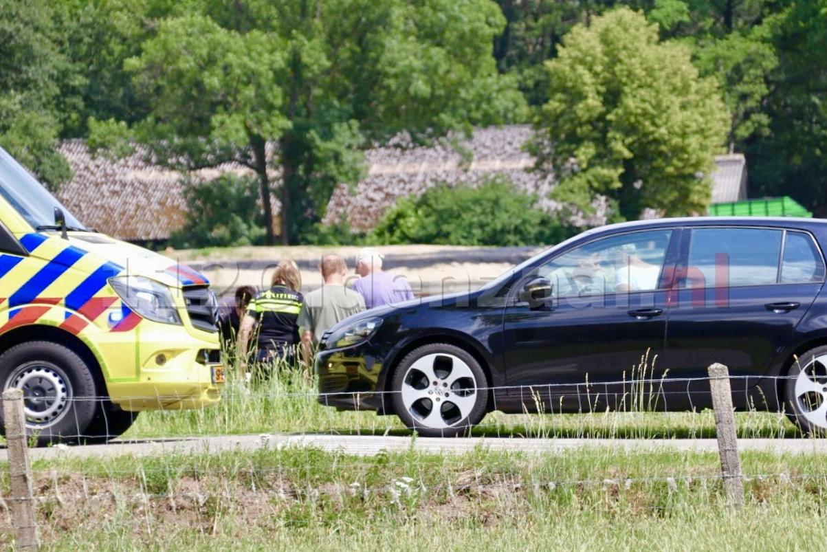 Vrouw gewond na ongeval in De Lutte