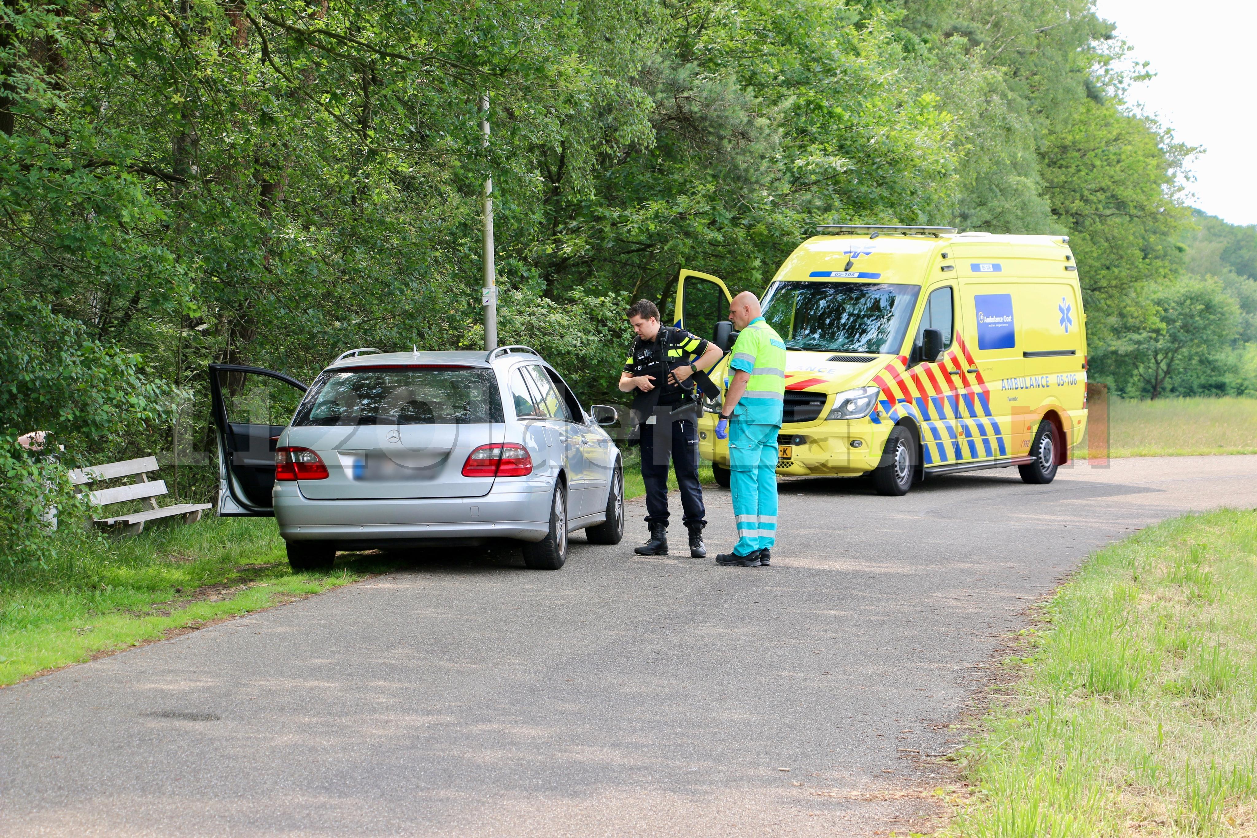 Man in Oldenzaal met schotwond overgebracht naar het ziekenhuis