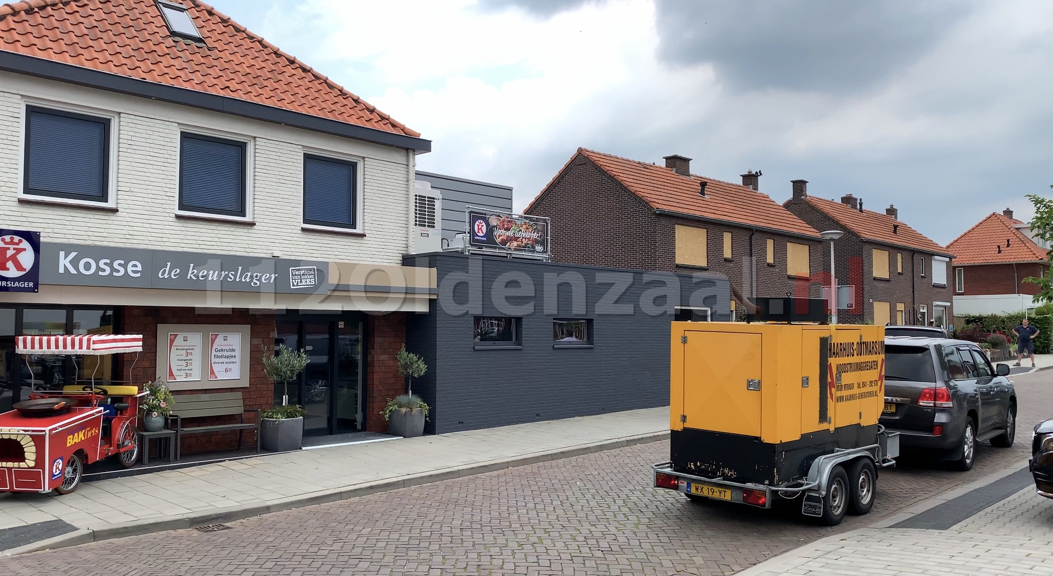 VIDEO: Forse stroomstoring in Oldenzaal