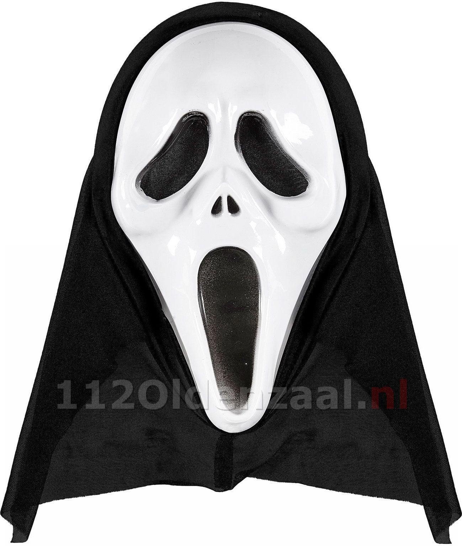 """Overval door twee personen met """"Scream maskers"""" in Oldenzaal"""