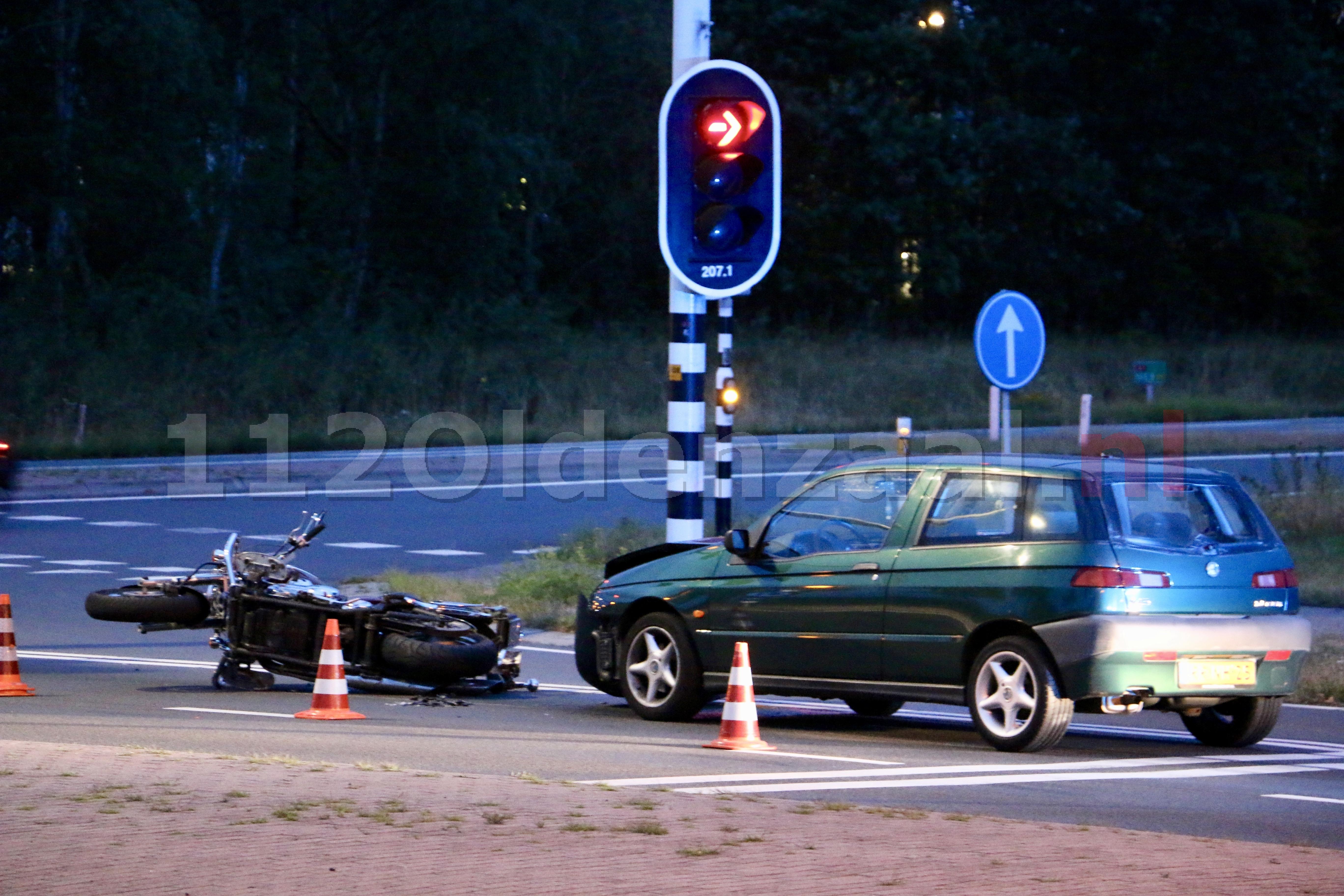 UPDATE: Man onder invloed en verlopen rijbewijs veroorzaakt ongeval in Oldenzaal