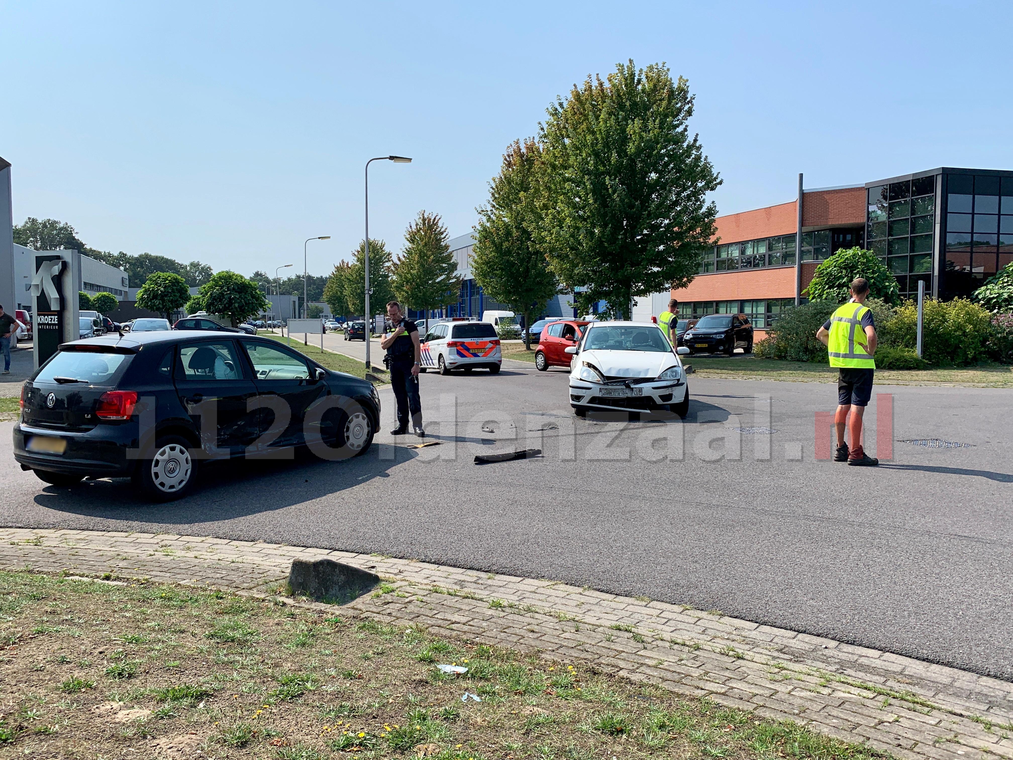 Twee personen gewond bij aanrijding op industrieterrein in Oldenzaal