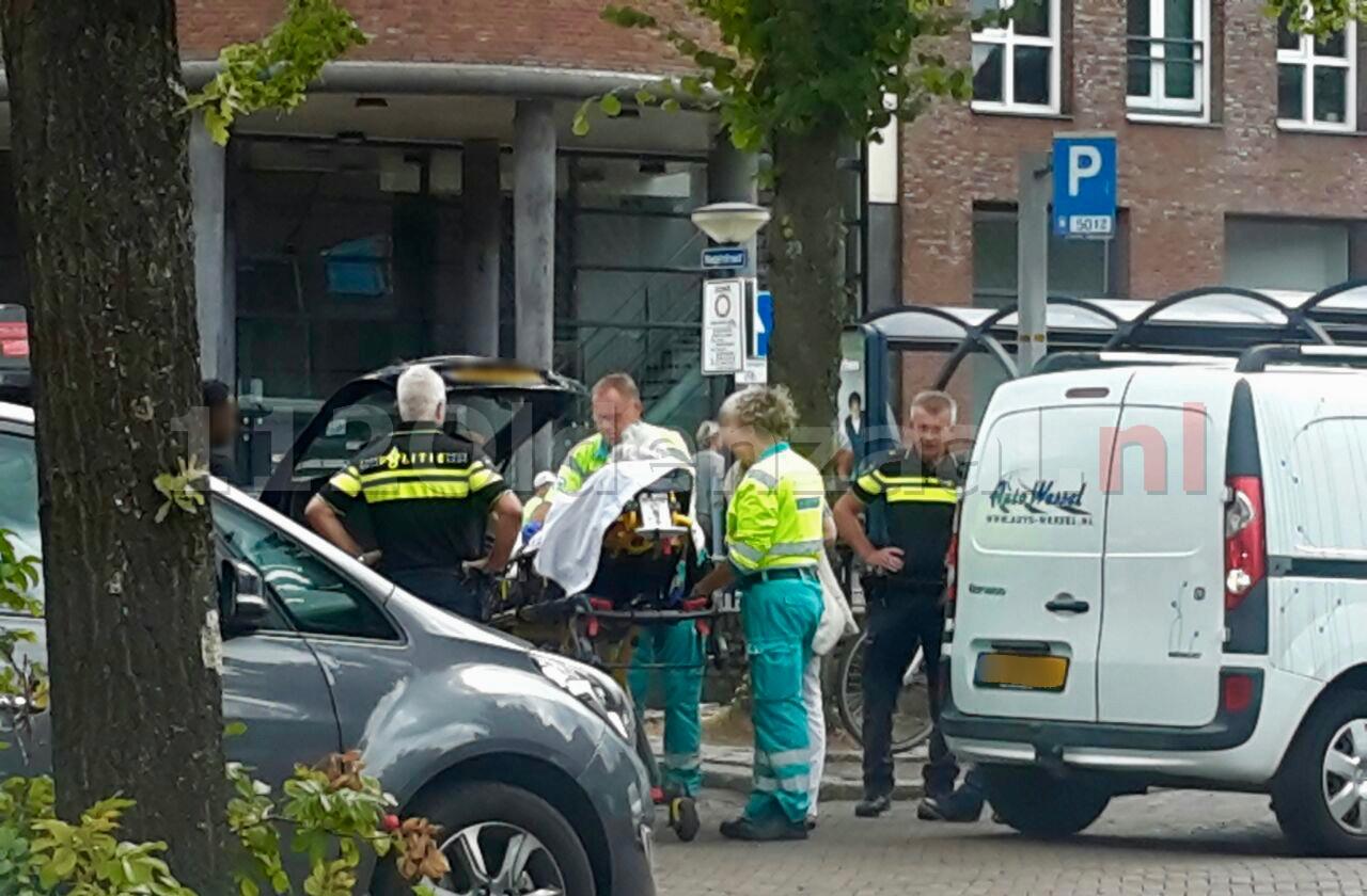 Vrouw gewond naar het ziekenhuis na ongeval