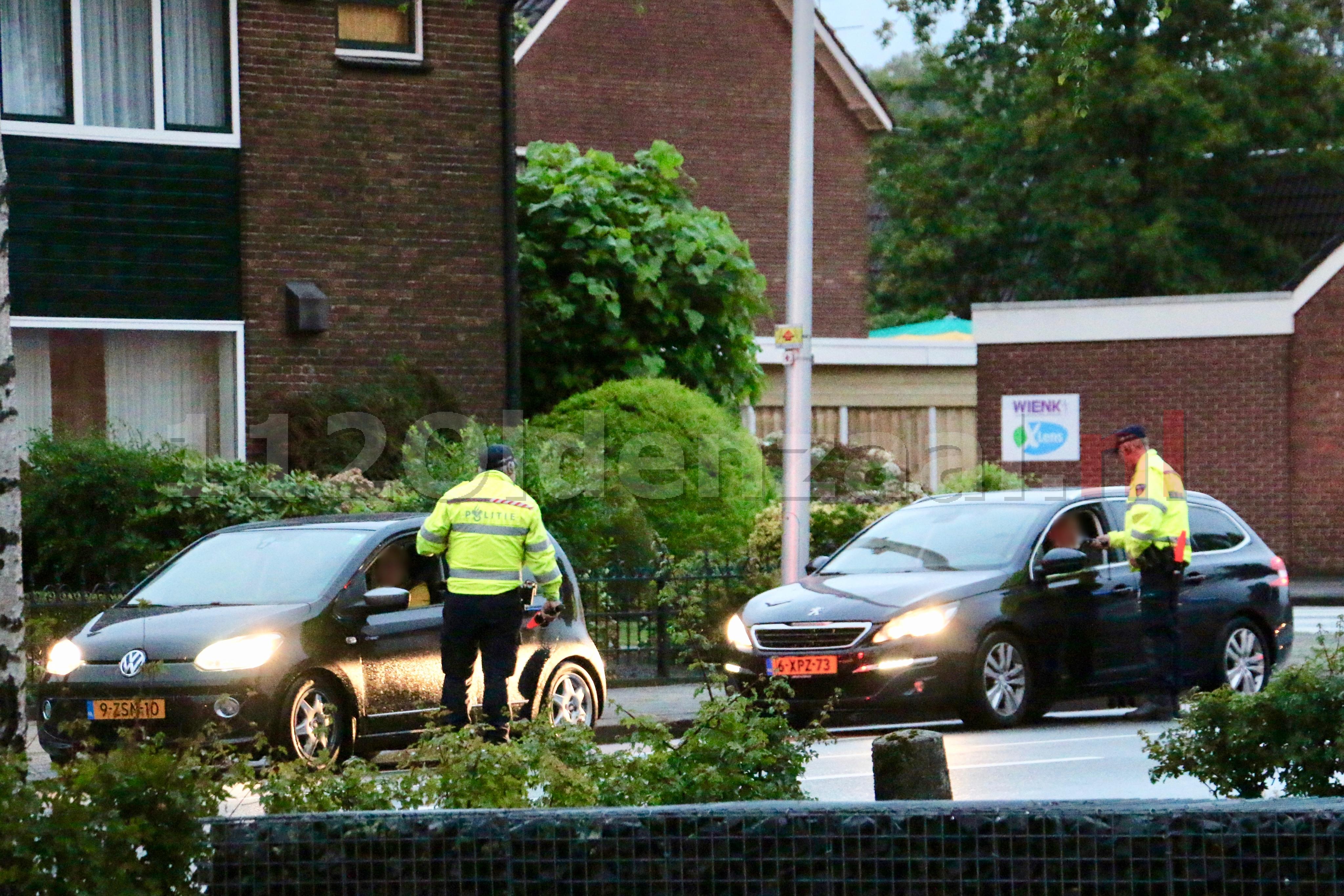 Boetes voor snelheid, alcohol en gebruik van telefoon bij controles in Enschede en Oldenzaal