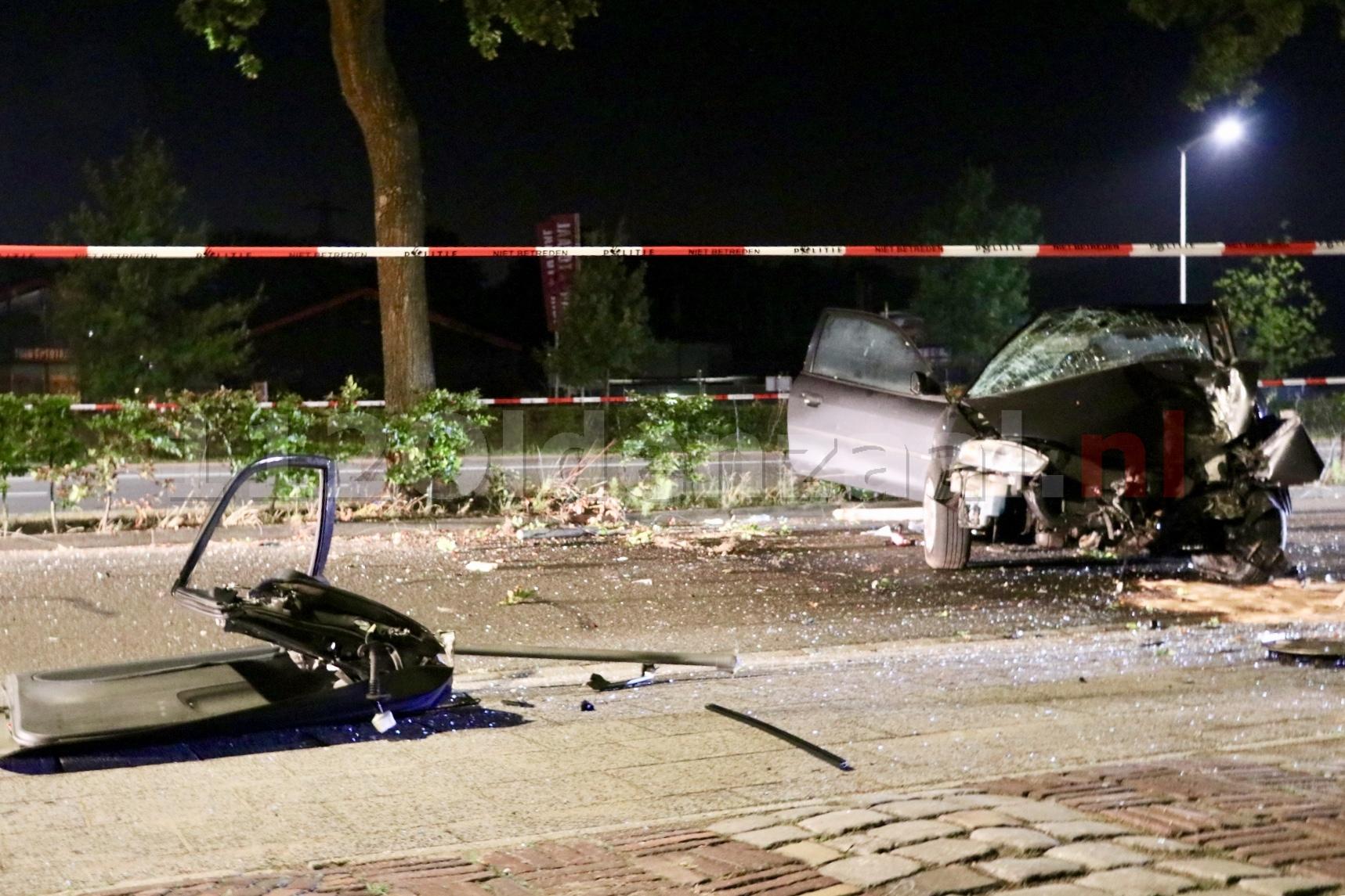 UPDATE (VIDEO): Drie gewonden bij ernstig ongeval in Oldenzaal