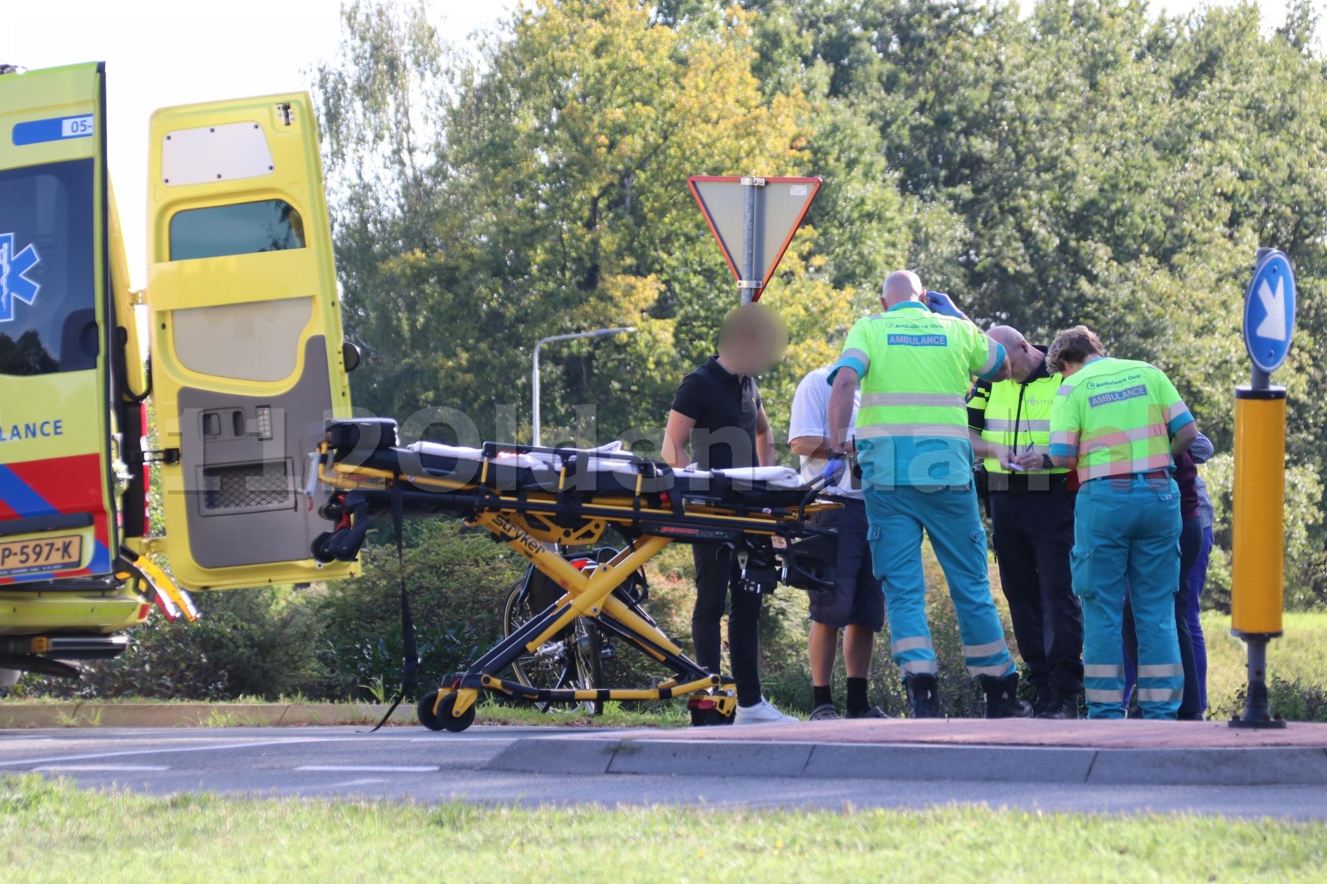 Vrouw gewond naar het ziekenhuis na val in Oldenzaal