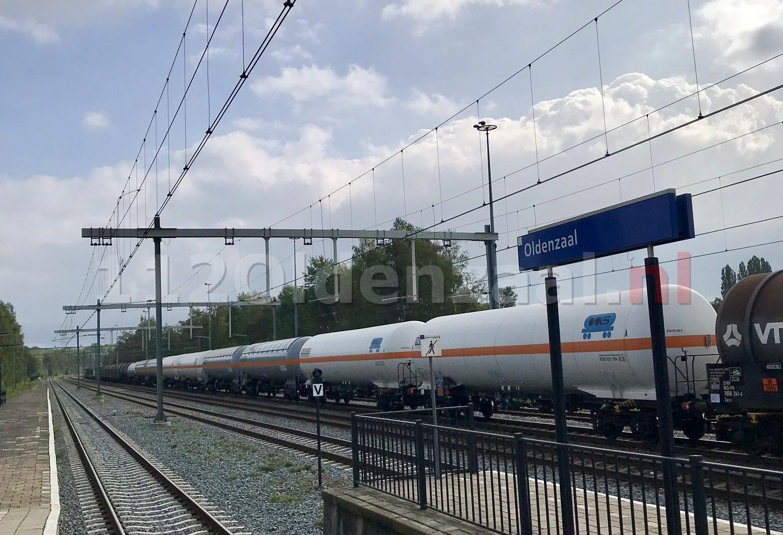 Informatievoorziening op het spoor in Oldenzaal opnieuw niet in orde; wagons met gevaarlijke stoffen aangetroffen
