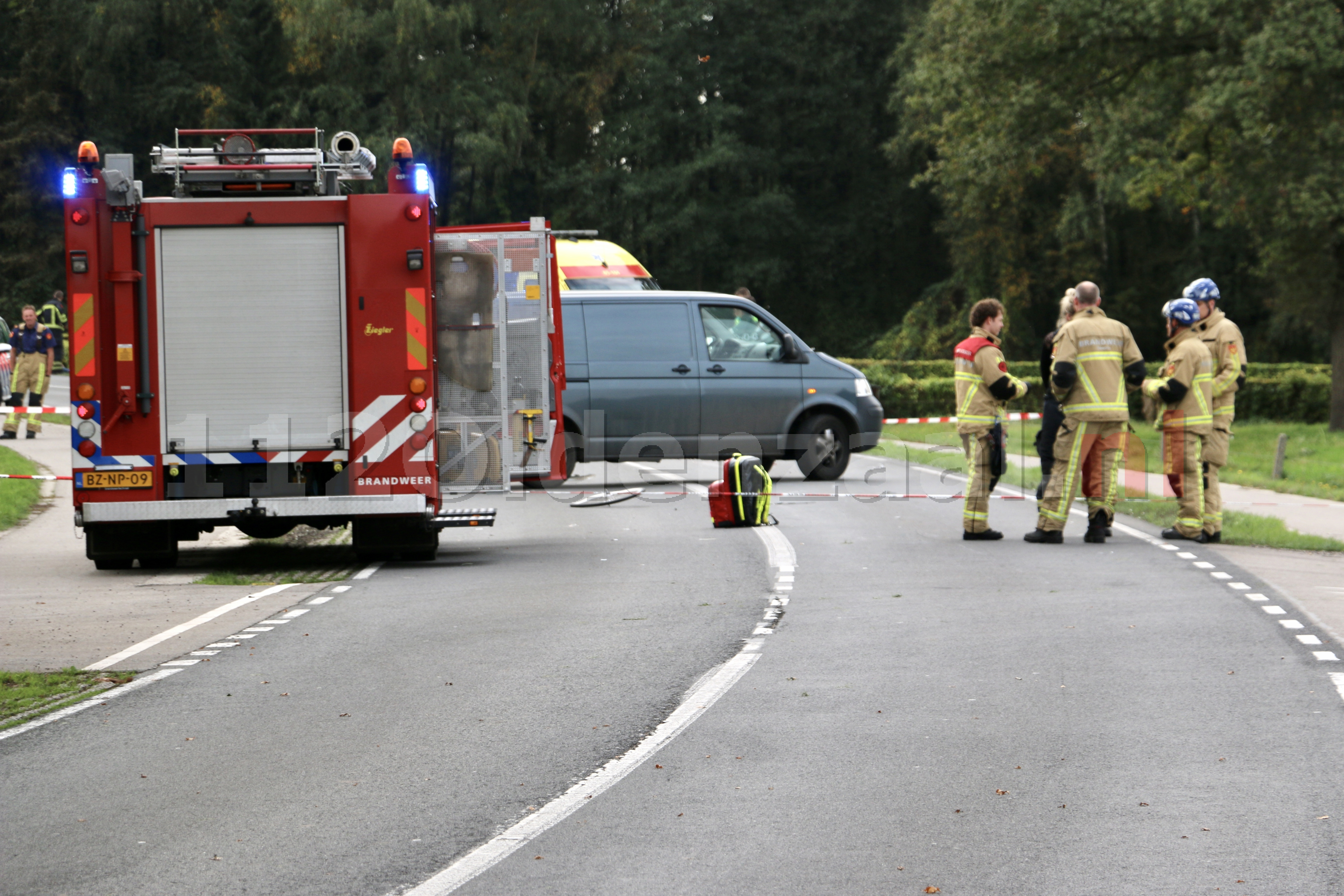 Fietser overleden bij ongeluk tussen Deurningen en Weerselo