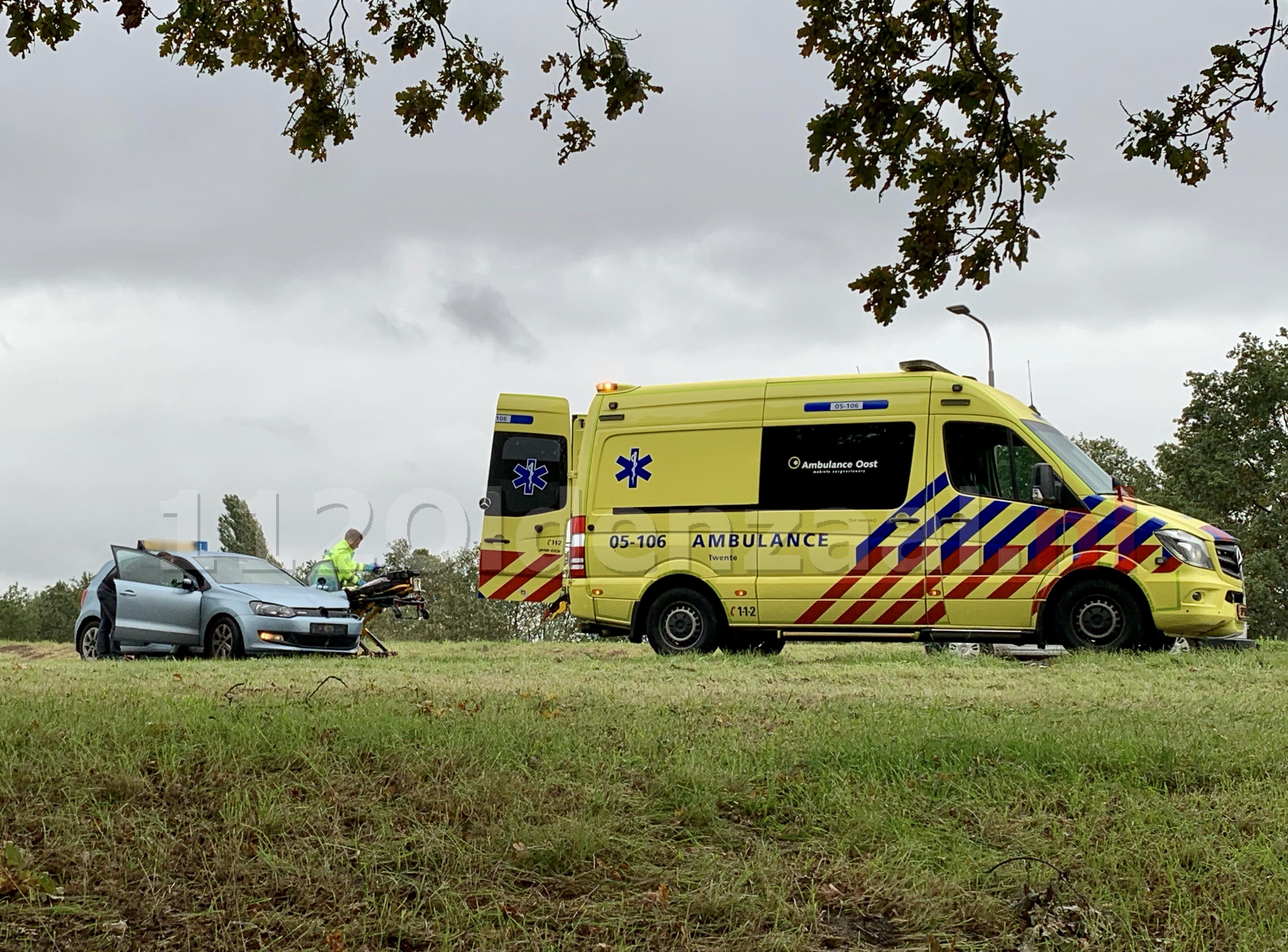 Gewonde bij ongeval op Rondweg Oldenzaal