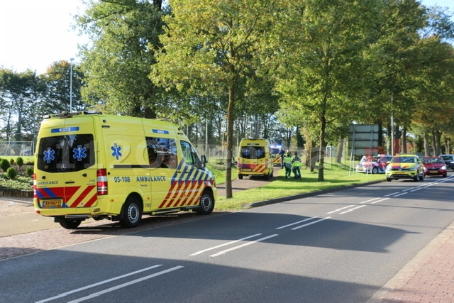 Ernstig ongeval in De Lutte: Traumahelikopter opgeroepen