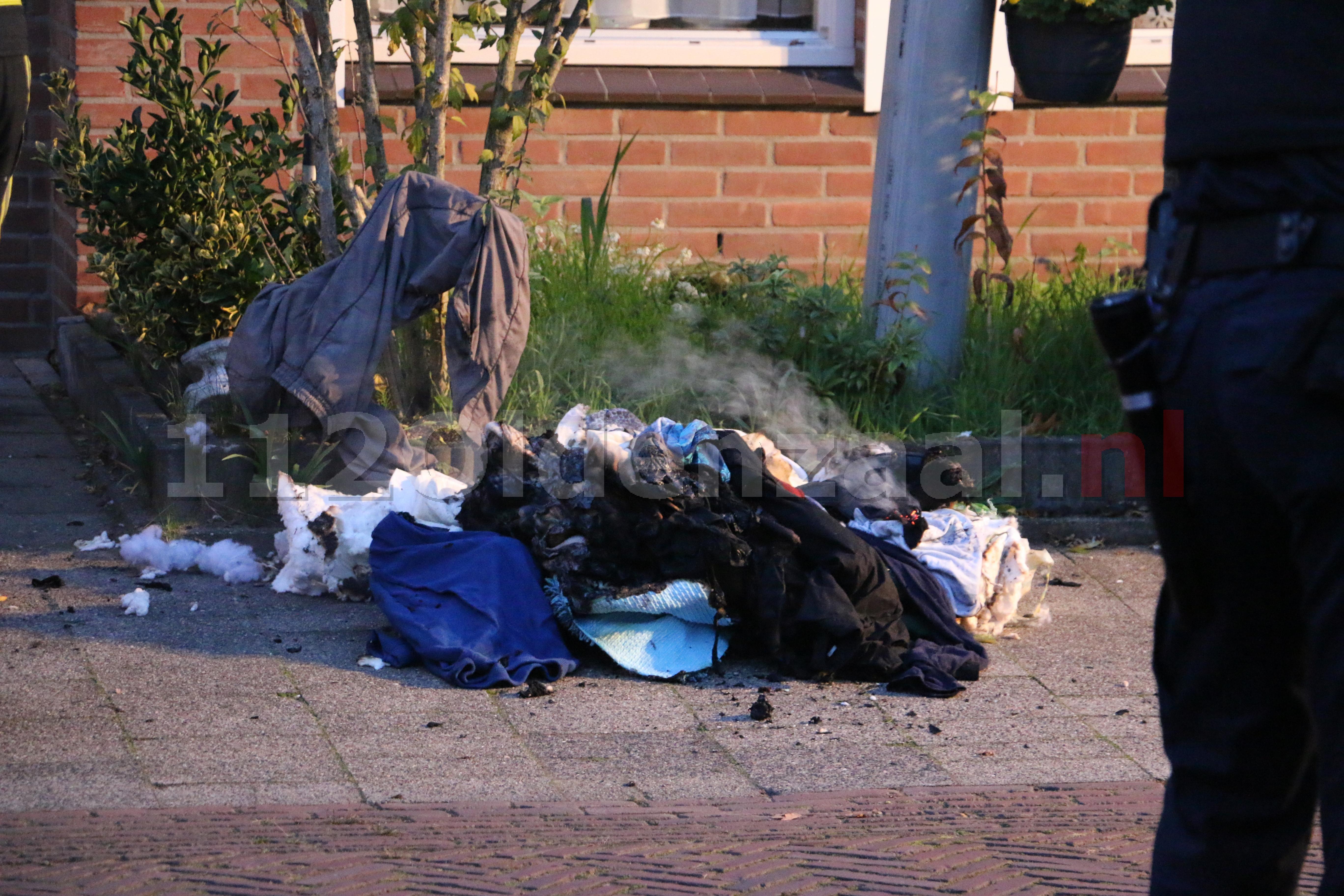 VIDEO: Forse schade bij woningbrand in Oldenzaal