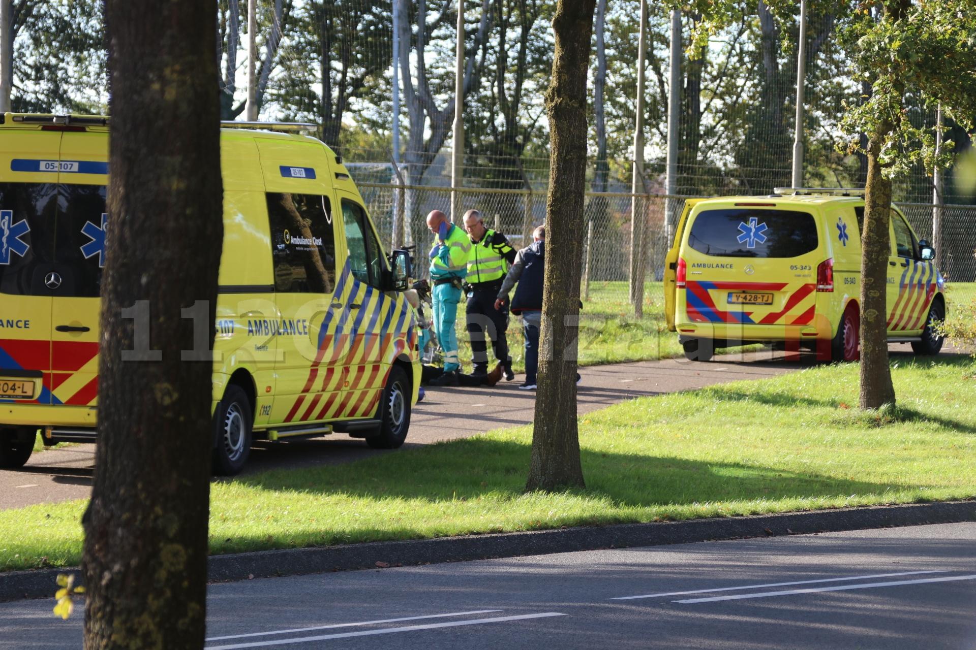 UPDATE (video): Fietsers gewond bij ongeval in De Lutte