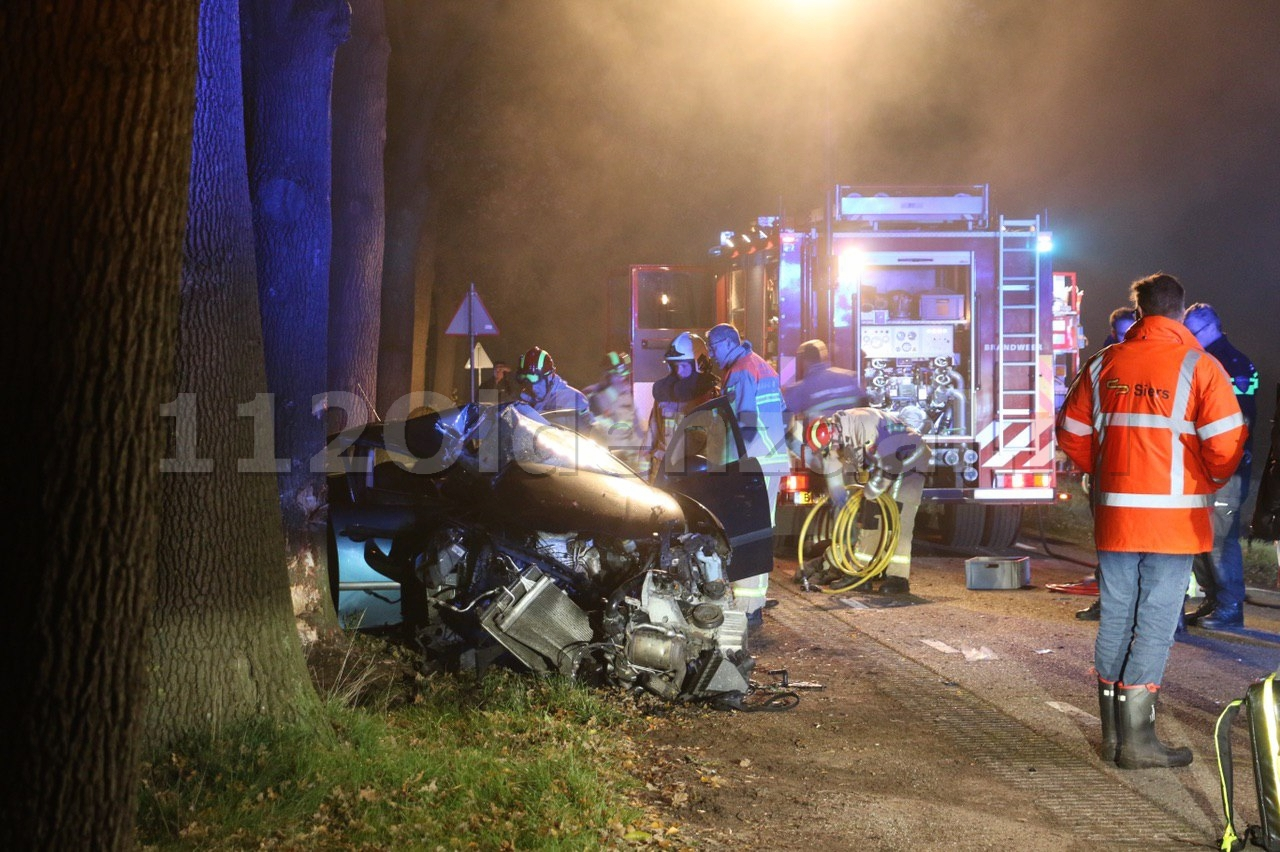 UPDATE (tekst): Man zwaargewond bij eenzijdig ongeval in Denekamp