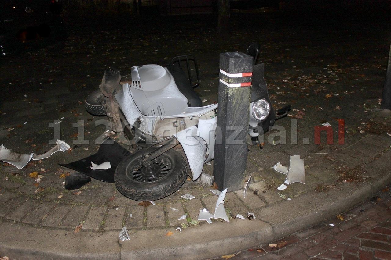 Scooterrijder gewond naar het ziekenhuis na ongeval in Oldenzaal