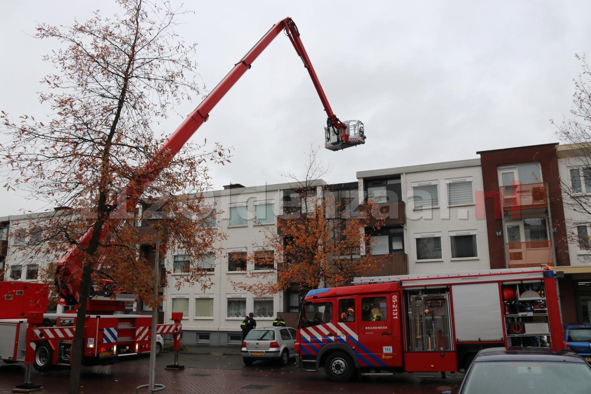 VIDEO: Keuken in woning Oldenzaal volledig uitgebrand