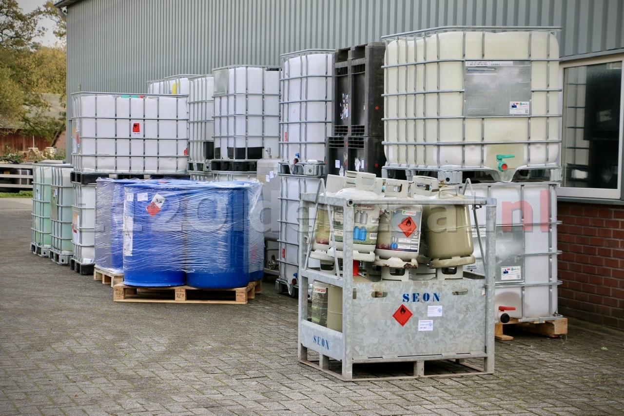 Ontmanteling drugslab in Oldenzaal afgerond