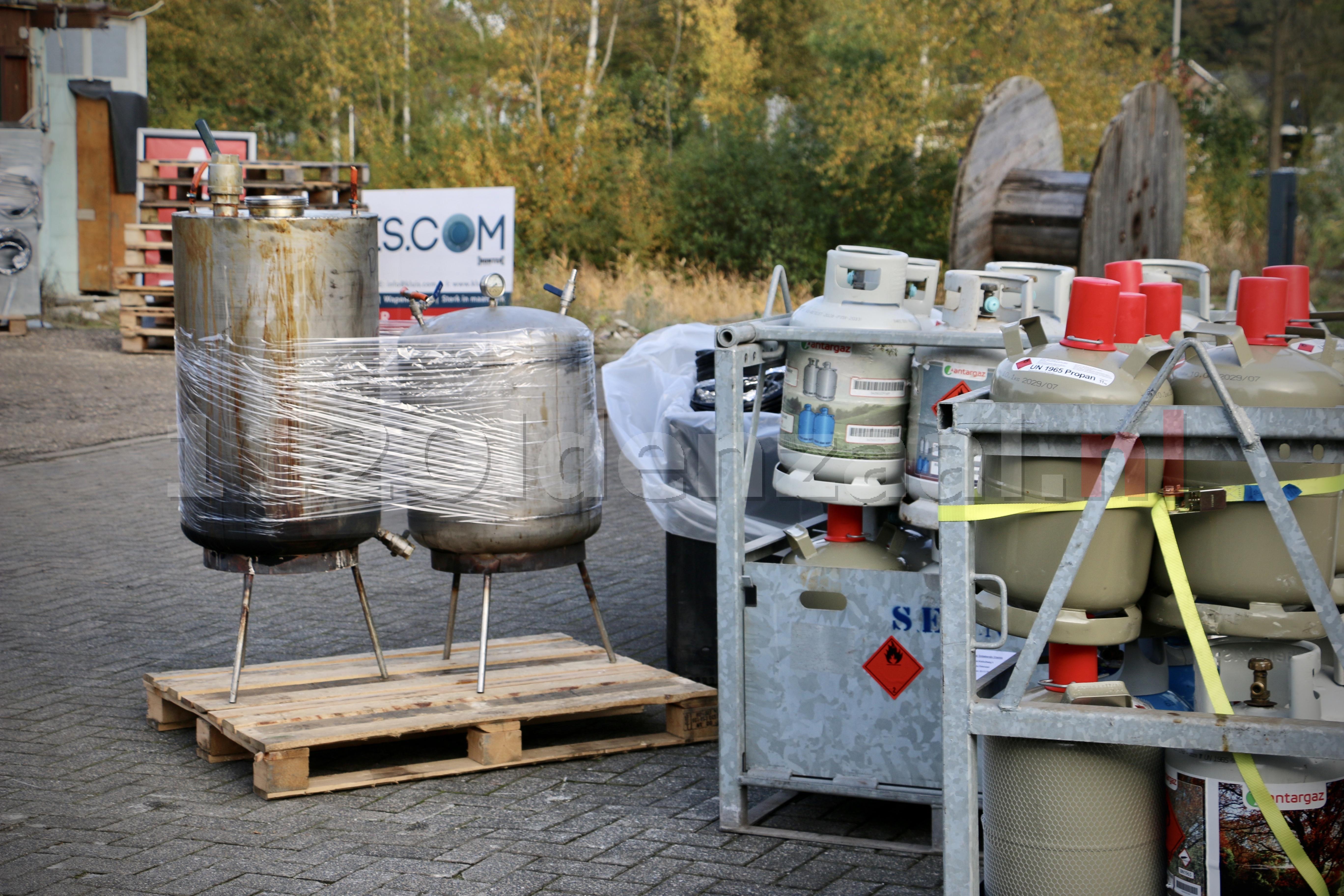 UPDATE: Aanhouding bij aantreffen groot drugslab in Oldenzaal; Eén samenwerkende Twentse overheid in actie tijdens Week tegen Ondermijning