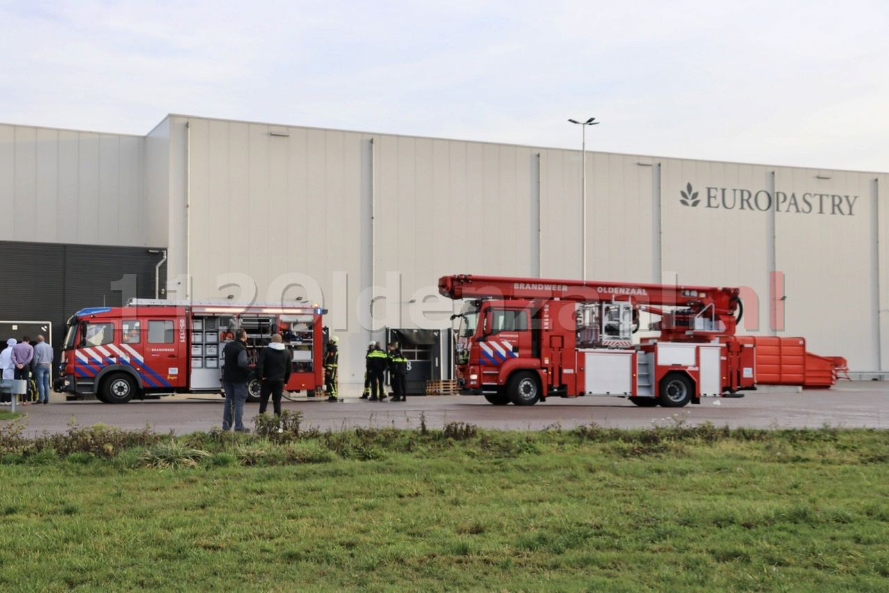 Heftruck vat vlam bij bedrijf in Oldenzaal