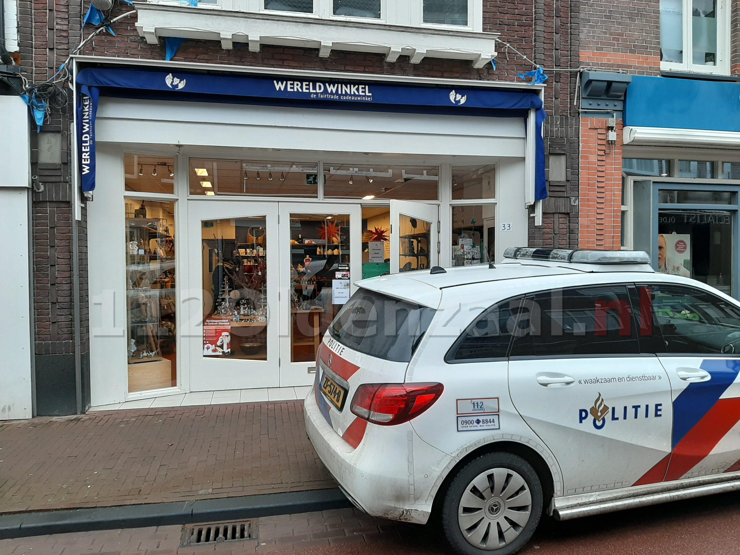 UPDATE: Ruit vernield van Wereldwinkel in Oldenzaal; dader meldt zich