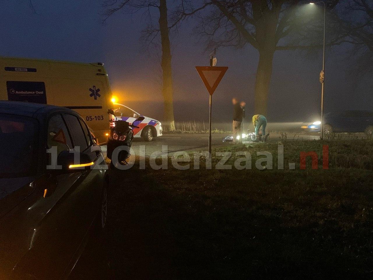 Scooterrijder gewond bij aanrijding in Deurningen