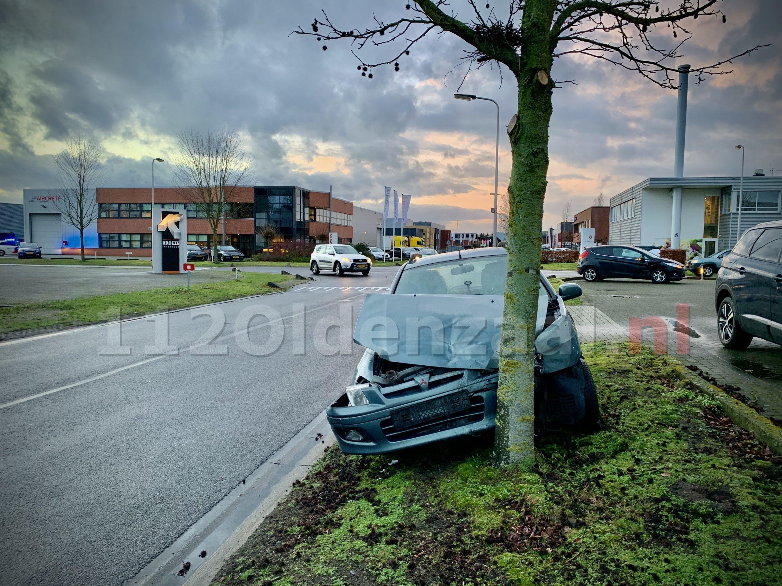 Forse schade bij ongeval op industrieterrein in Oldenzaal