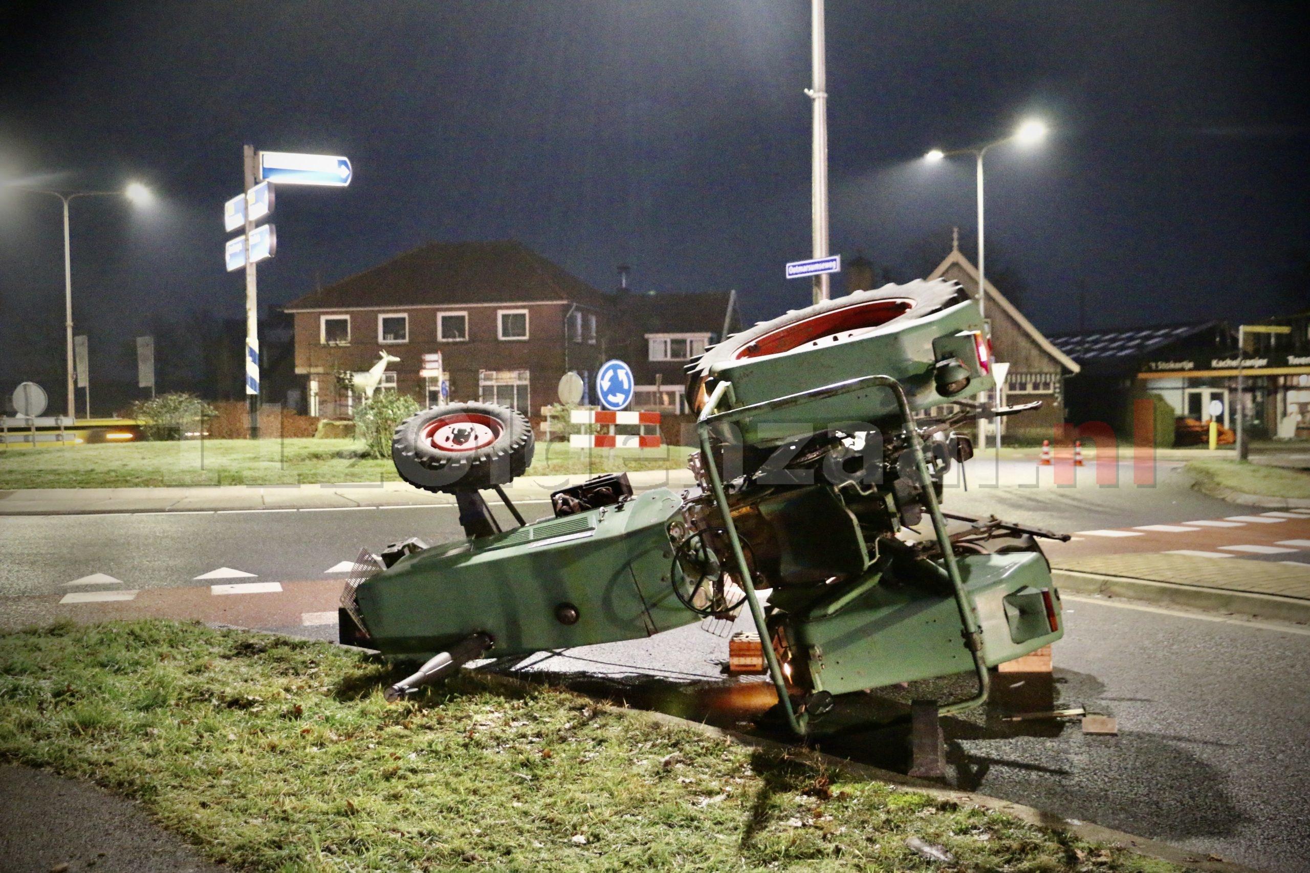 UPDATE: Dodelijk ongeval in Reutum; jongen komt om bij ongeval met trekker