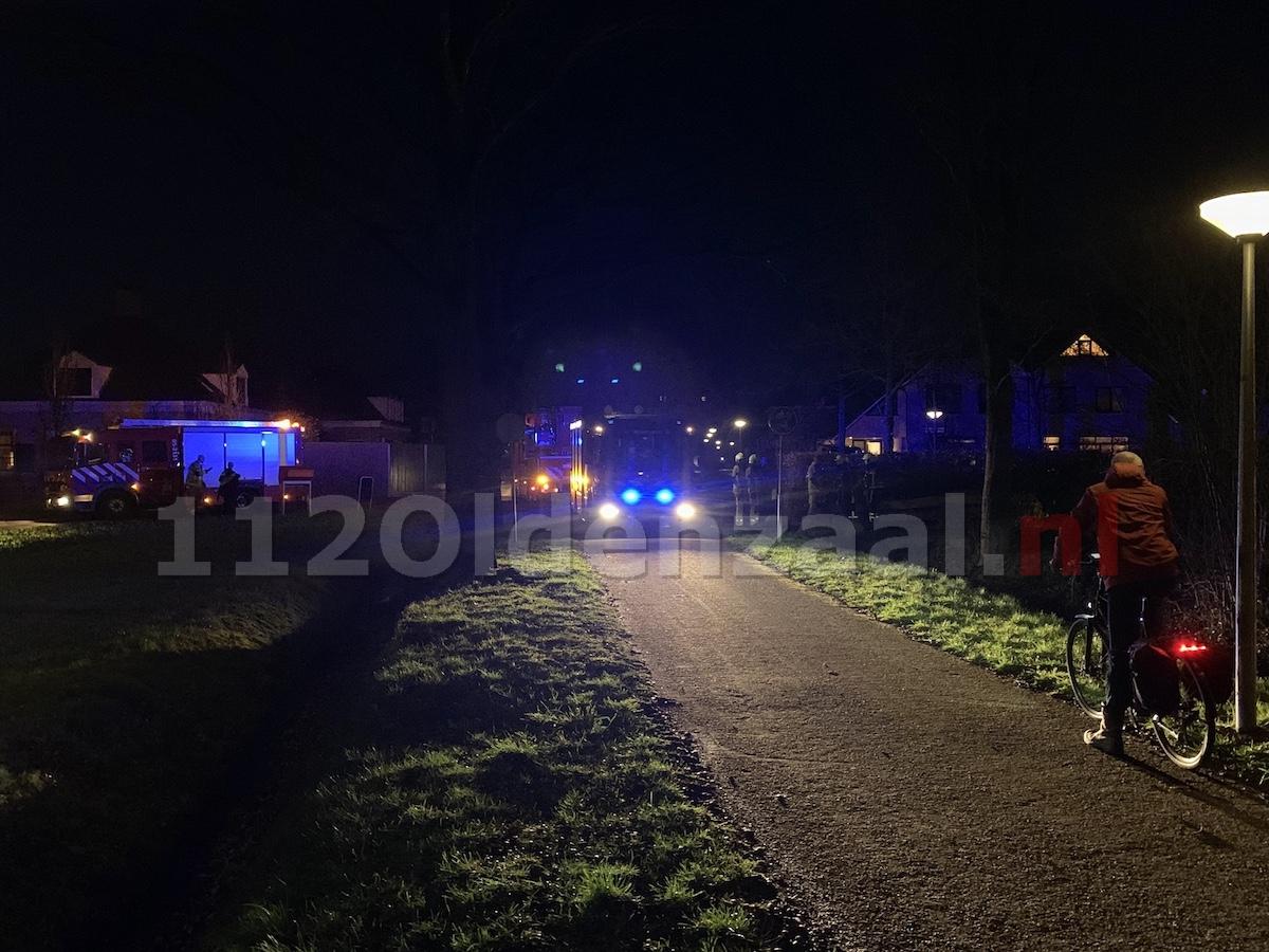 Brandweer rukt uit voor melding woningbrand in Oldenzaal