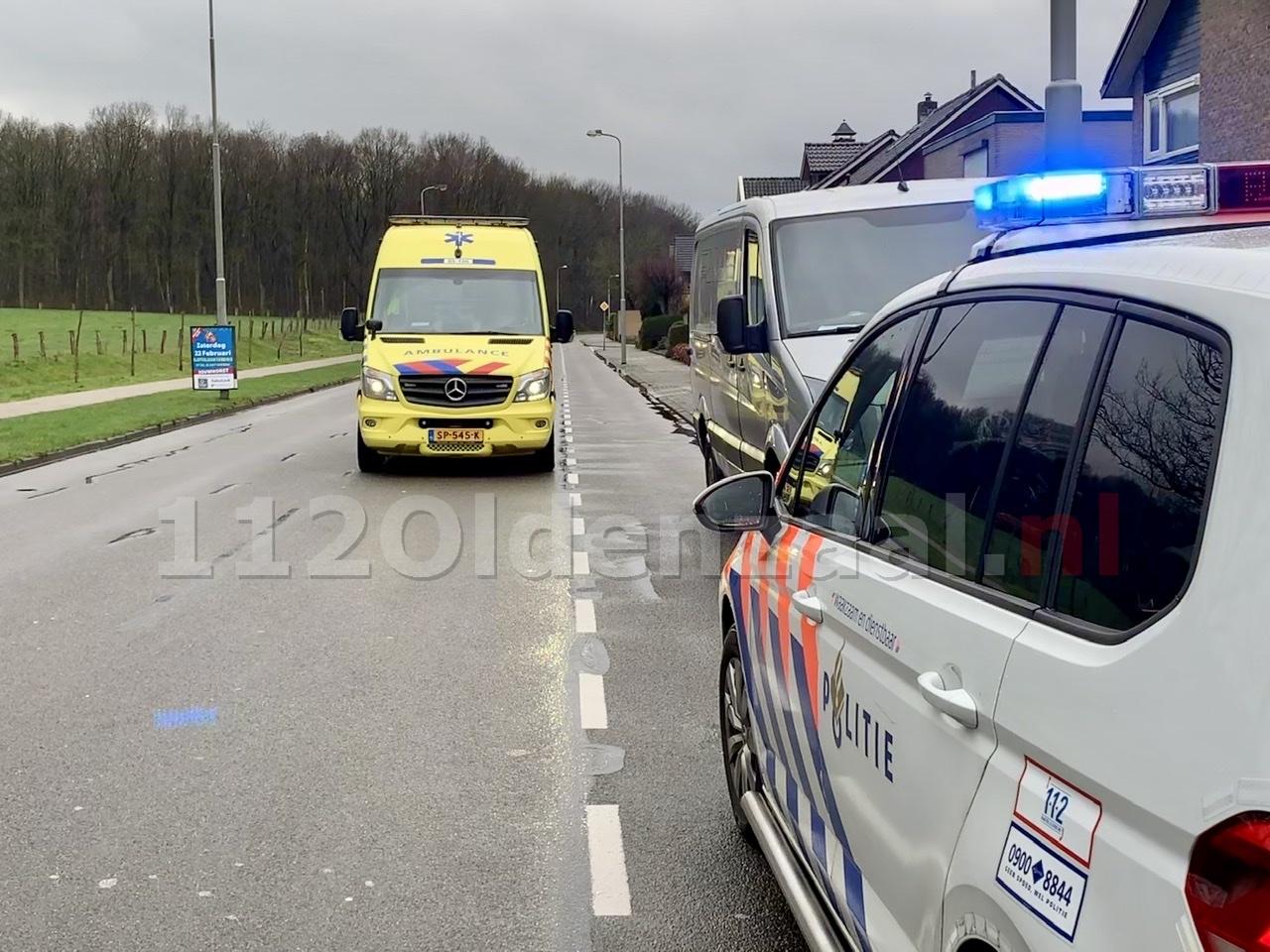 Fietsertje gewond naar het ziekenhuis na ongeval in Oldenzaal